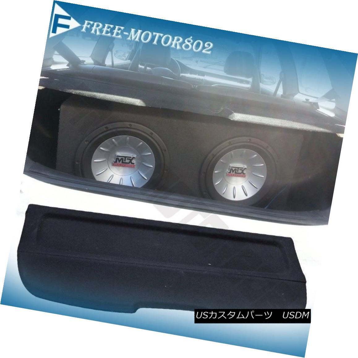エアロパーツ Fit 92-95 Honda Civic Hatchback Black Rear Cargo Security Cover Sun Shade フィット92-95ホンダシビックハッチバックブラックリアカーゴセキュリティカバーサンシェード