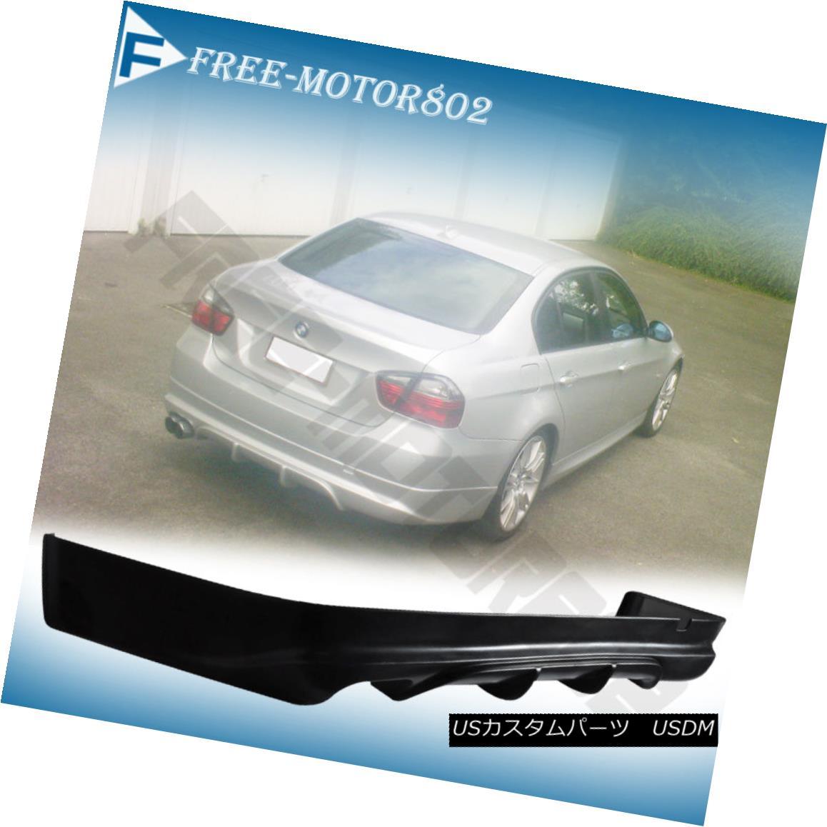 エアロパーツ FOR 05-08 BMW E90 3-SERIES SEDAN 4DOOR AC REAR BUMPER LIP SPOILER BODYKIT PU FOR 05-08 BMW E90 3-SERIES SEDAN 4DOOR ACリア・バンパー・リップ・スポイラーBODYKIT PU