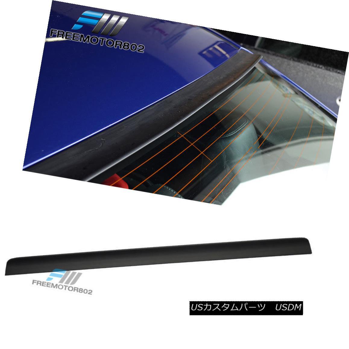 エアロパーツ For 03-08 Nissan Teana J31 4DR BRS Rear Window Visor Roof Spoiler Wing PUF 03-08日産ティーナJ31 4DR BRSリアウィンドウバイザールーフスポイラーウイングPUF