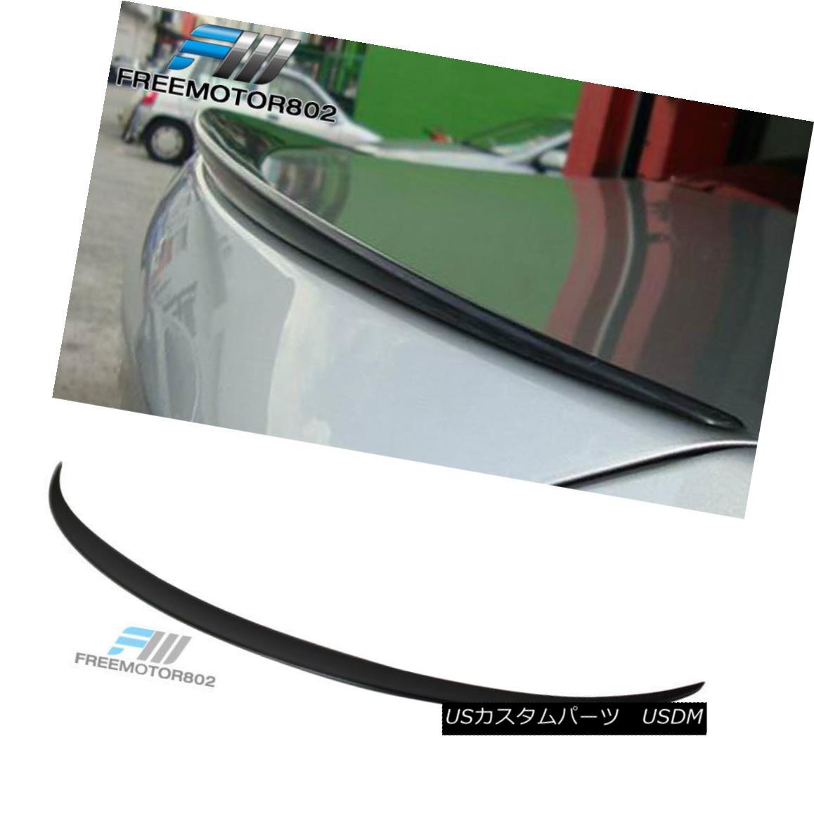 エアロパーツ Fit 2011-2016 BMW 5-Series F10 4DR Sedan Unpainted ABS Trunk Spoiler Wing フィット2011-2016 BMW 5シリーズF10 4DRセダン無塗装ABSトランクスポイラーウイング