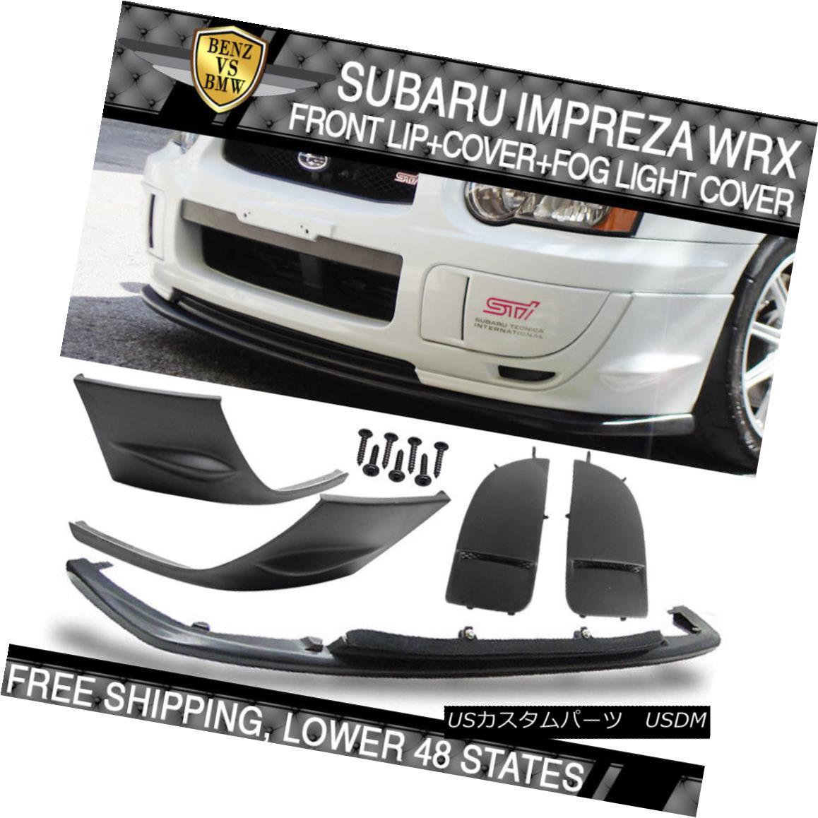 エアロパーツ Fit For Subaru Cover Side Impreza WRX 2004-2005 + V-Limited Side Bumper Cover + Lip+Fog Cover スバルインプレッサWRX 2004-2005用V-Sideサイドバンパーカバー+リップ+フォグカバー, 住の森:d5b3e8b2 --- sunward.msk.ru