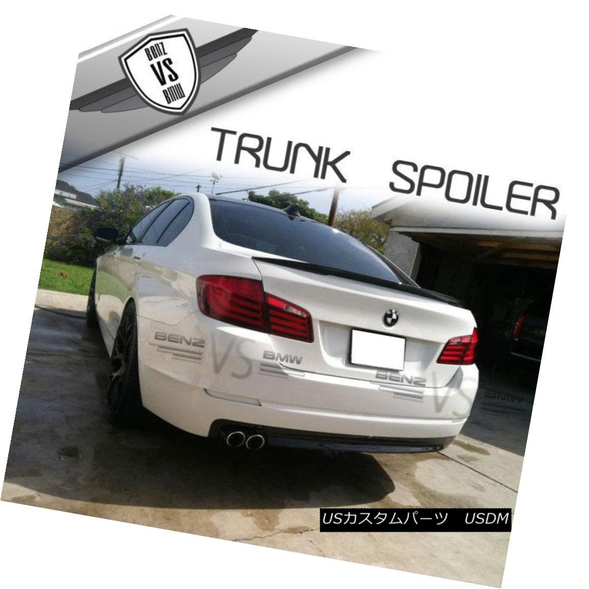エアロパーツ 11-16 BMW F10 5-Series 4Dr Performance Style Trunk Spoiler Wing ABS New 11-16 BMW F10 5シリーズ4DrパフォーマンススタイルトランクスポイラーウィングABS新