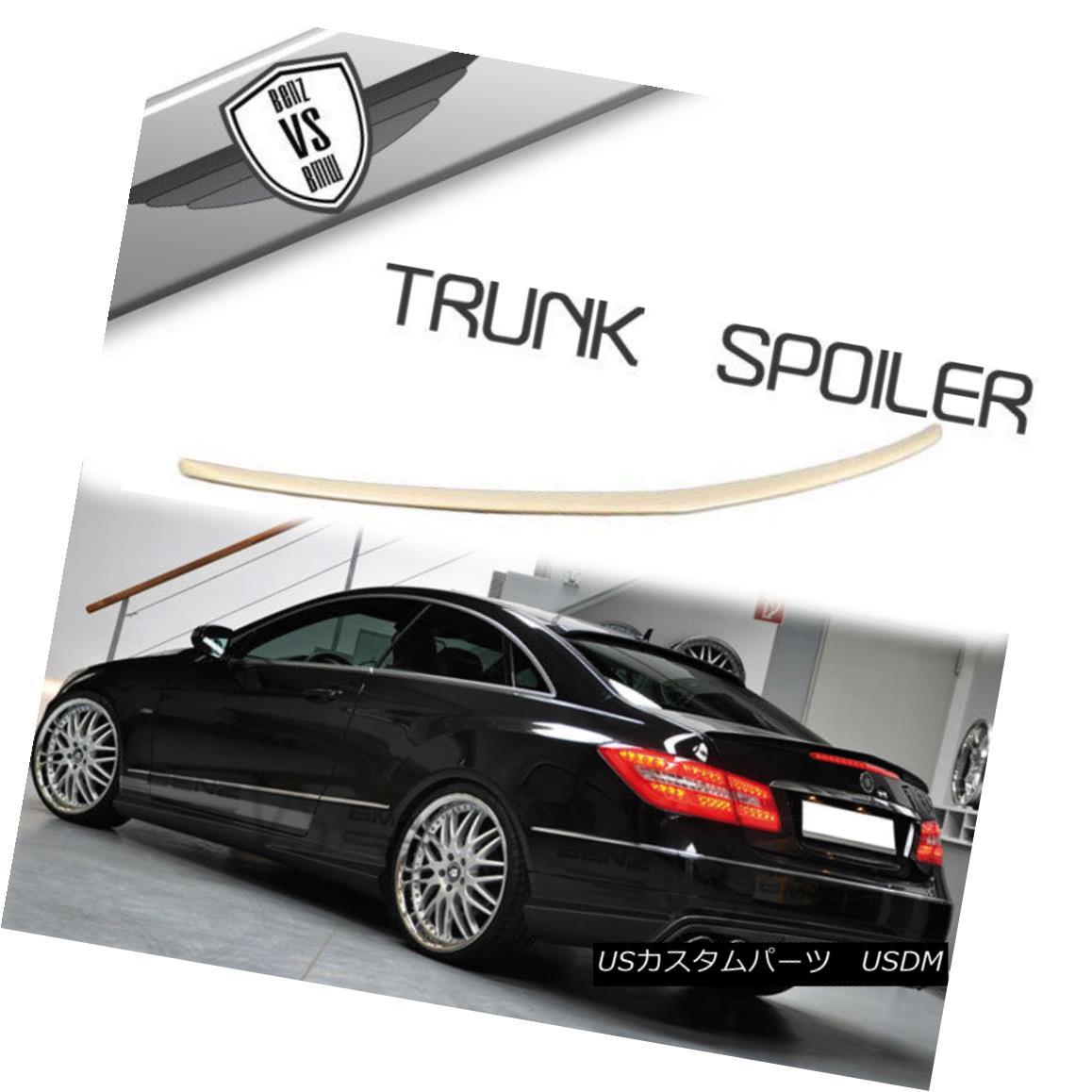 エアロパーツ Fit 10 11 12 13 14 15 16 17 Benz W207 C207 E Class Coupe 2Dr Trunk Spoiler ABS フィット10 11 12 13 14 15 16 17ベンツW207 C207 Eクラスクーペ2DrトランクスポイラーABS