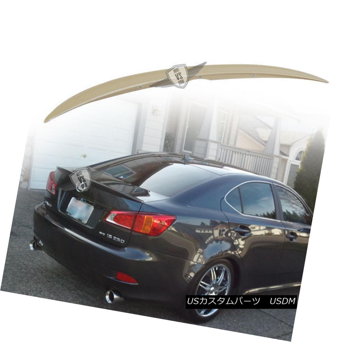 エアロパーツ Fit For 06-13 Lexus IS250 IS350 OE Style Trunk Spoiler ABS 06-13 Lexus IS250 IS350 OEスタイルトランクスポイラーABSに適合