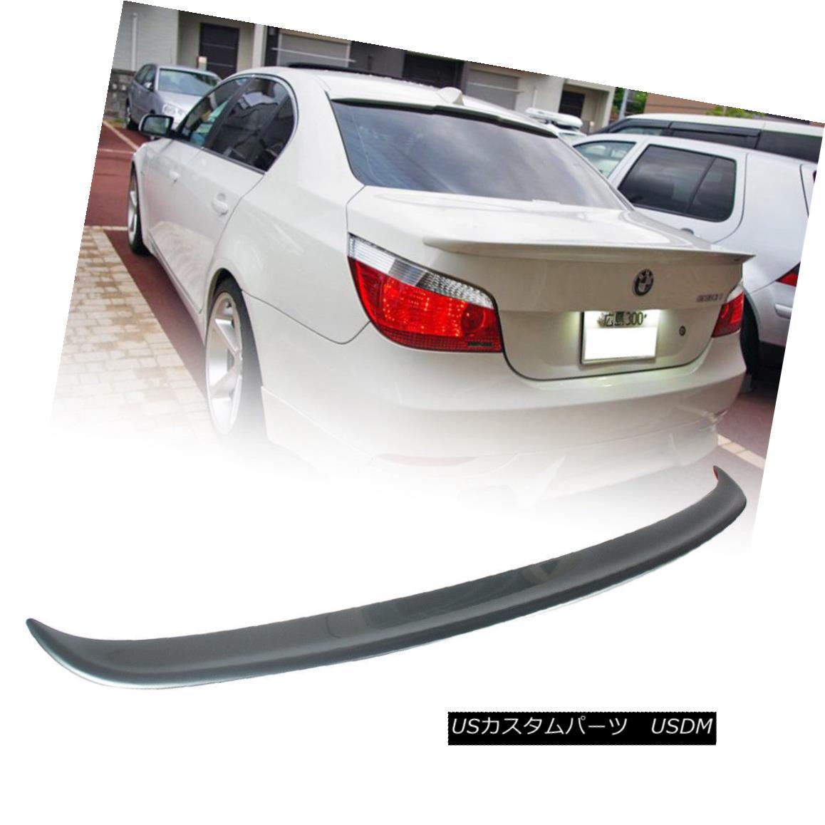 Carbon Fiber Rear Roof Spoiler Trunk Wing Fit for BMW E60 Sedan M5 2004-2010