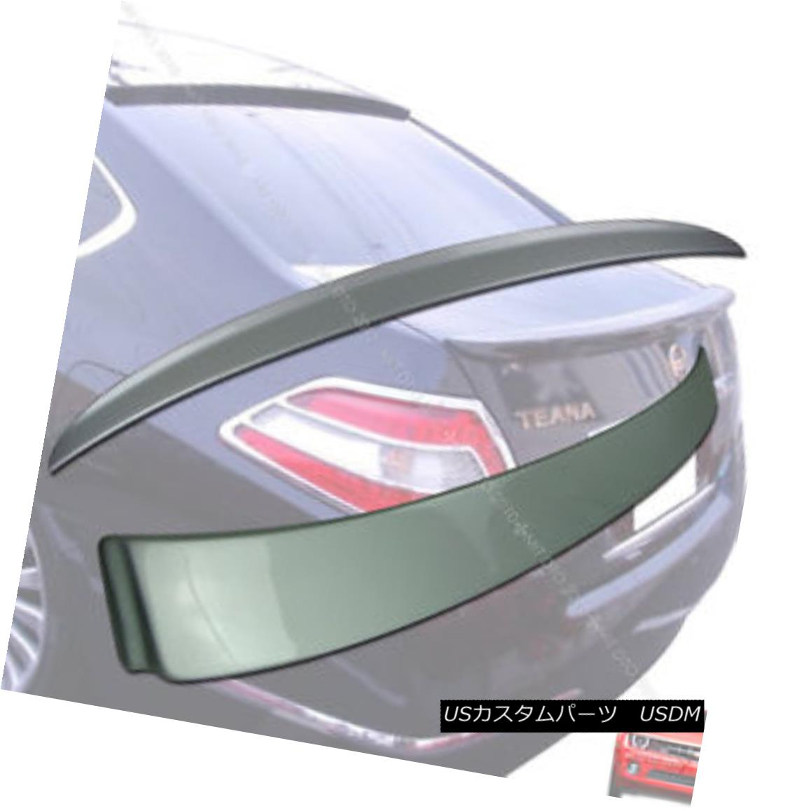エアロパーツ Painted FOR J32 TEANA Rear Trunk Spoiler & Roof Spoiler NEW 09-12 § 塗装されたFOR J32 TEANAリアトランクスポイラー& 屋根スポイラーNEW 09-12