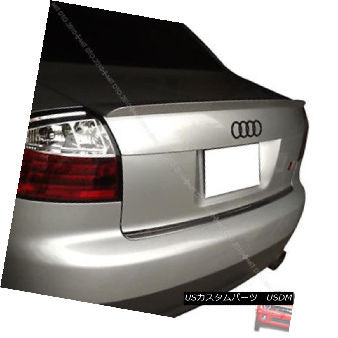 エアロパーツ Painted 02-05 AUDI A4 B6 Rear Trunk Spoiler Wing NEW LX7Z § 塗装02-05 AUDI A4 B6リアトランクスポイラーウィングNEW LX7Z