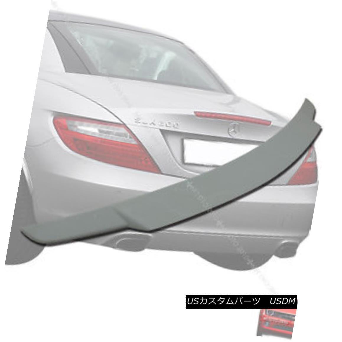 エアロパーツ Painted Mercedes BENZ SLK R172 V-Type Boot Rear Trunk Spoiler Wing § ベンツSLK R172 V型ブーツリアトランク・スポイラー・ウィングPain
