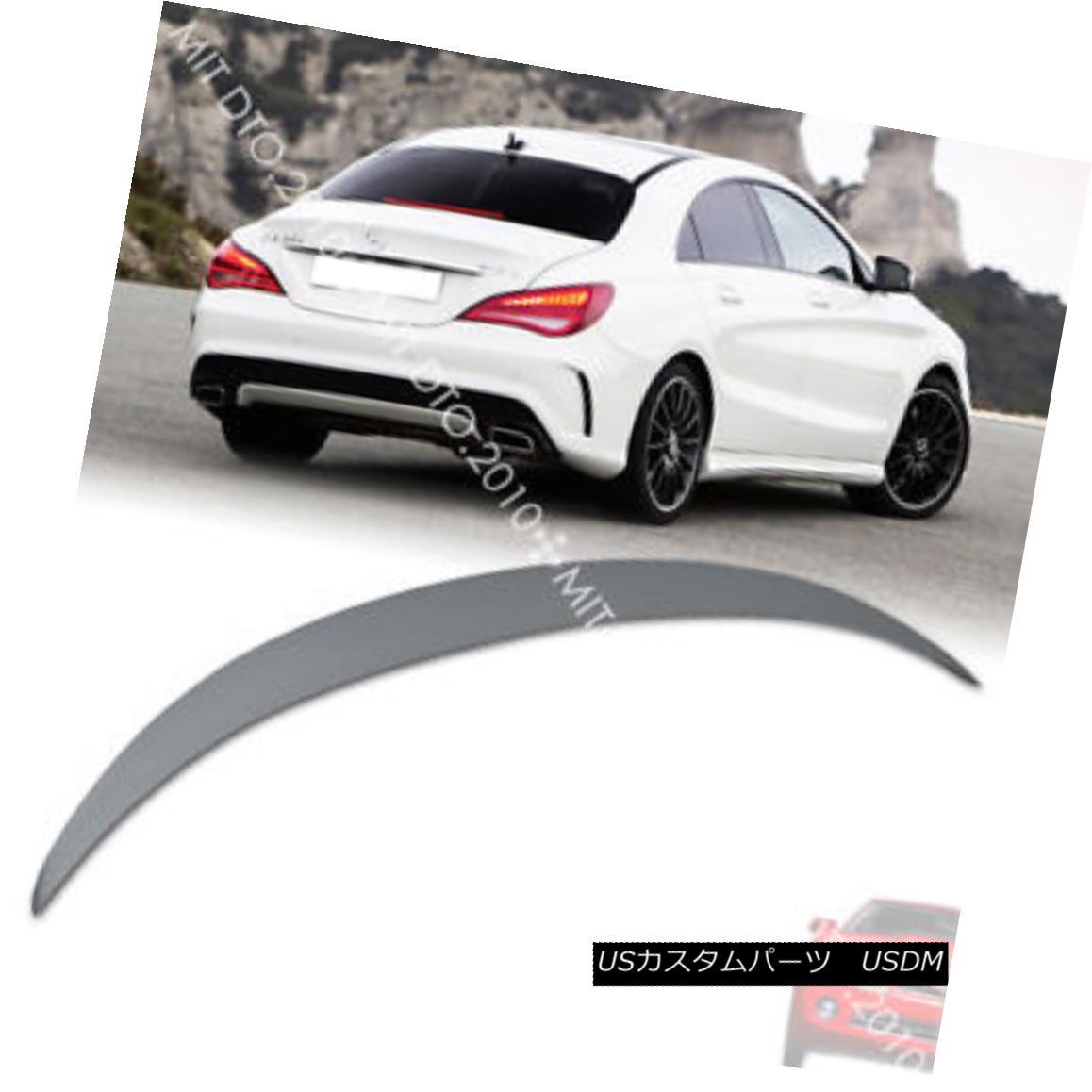 エアロパーツ Mercedes BENZ C117 W117 CLA-Class CLA180 CLA200 Trunk Spoiler FRP 14up § メルセデスベンツC117 W117 CLAクラスCLA180 CLA200トランクスポイラーFRP 14up