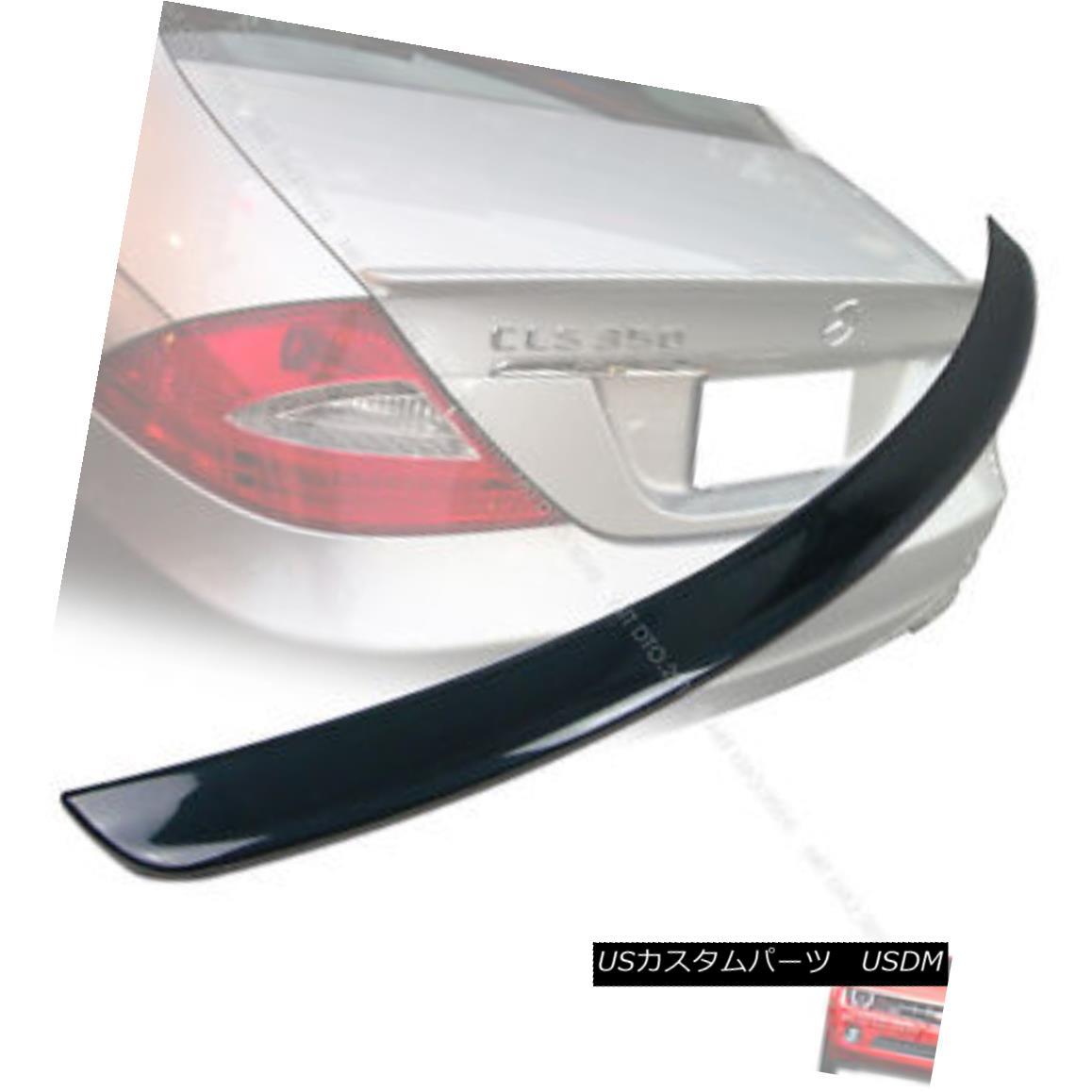 エアロパーツ Painted Mercedes Benz W219 A Type Boot Trunk Spoiler 04-10 ABS #040 塗装されたメルセデスベンツW219 Aタイプのブートトランクスポイラー04-10 ABS#040