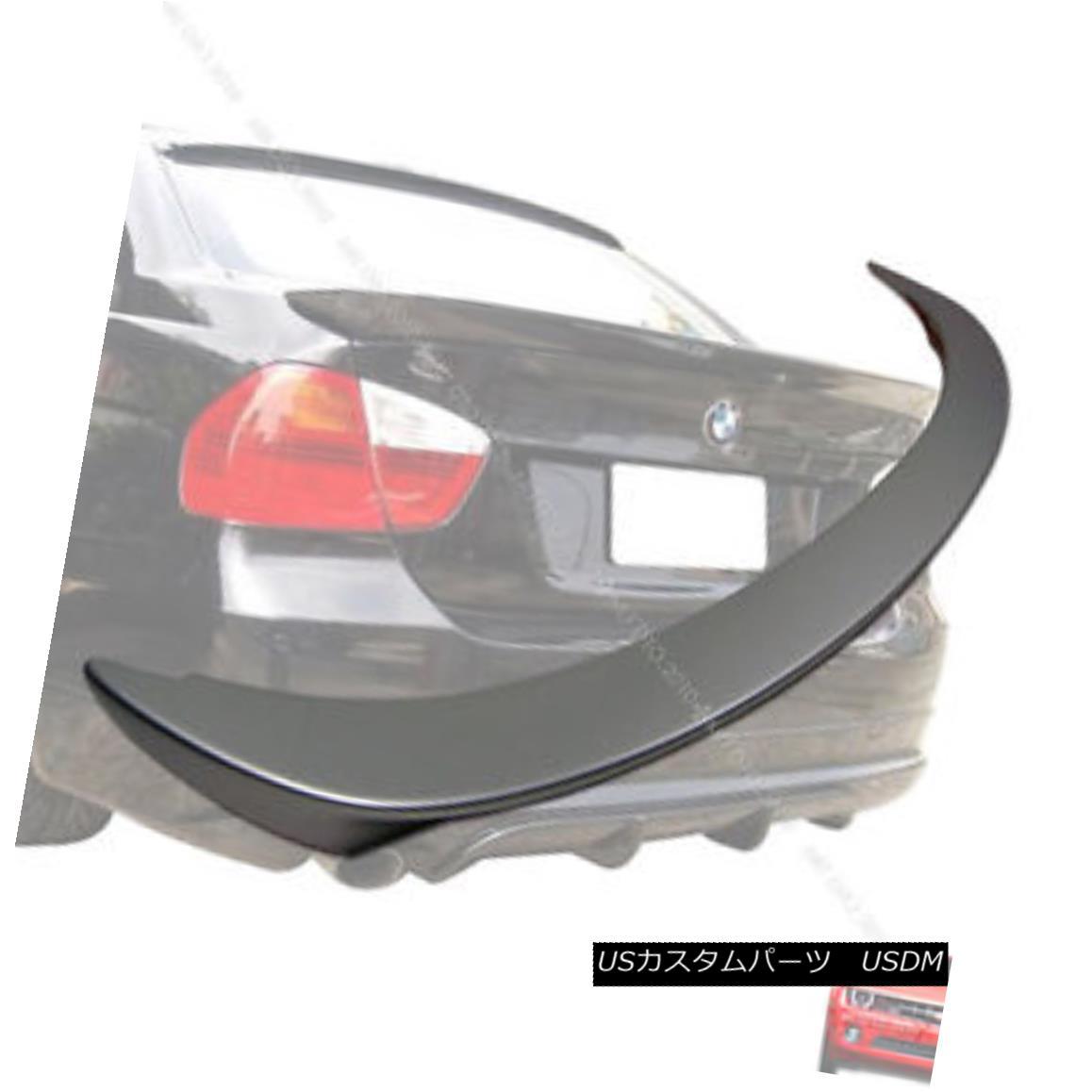 エアロパーツ Painted 335i 328i E90 3-Series BMW Sedan Trunk Spoiler Rear Wing 06-11 塗装された335i 328i E90 3シリーズBMWセダントランクスポイラーリアウイング06-11