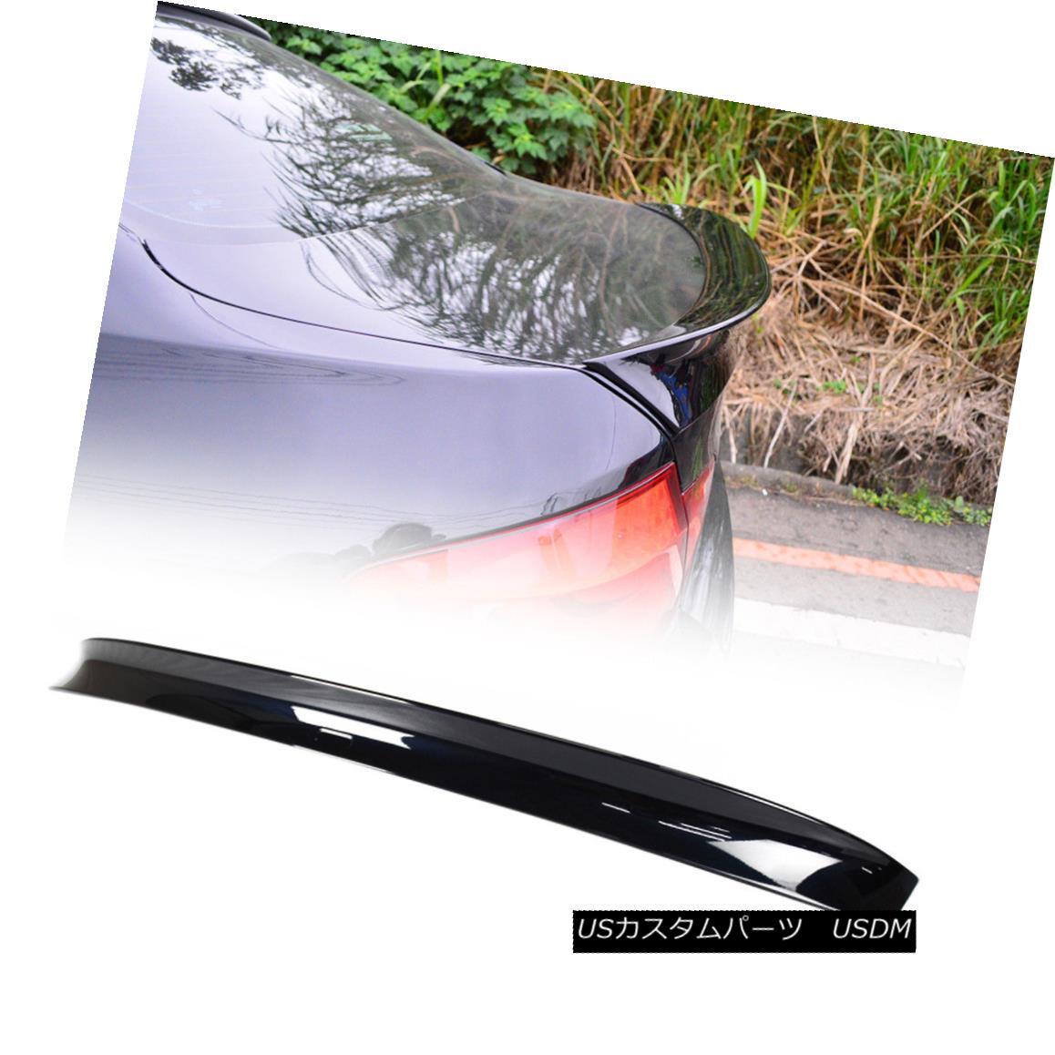 エアロパーツ For BMW F10 5-series A Style Rear Trunk Spoiler Wing ABS Painted Color #416 BMW F10 5シリーズAスタイルリアトランクスポイラーウィングABS塗装カラー#416