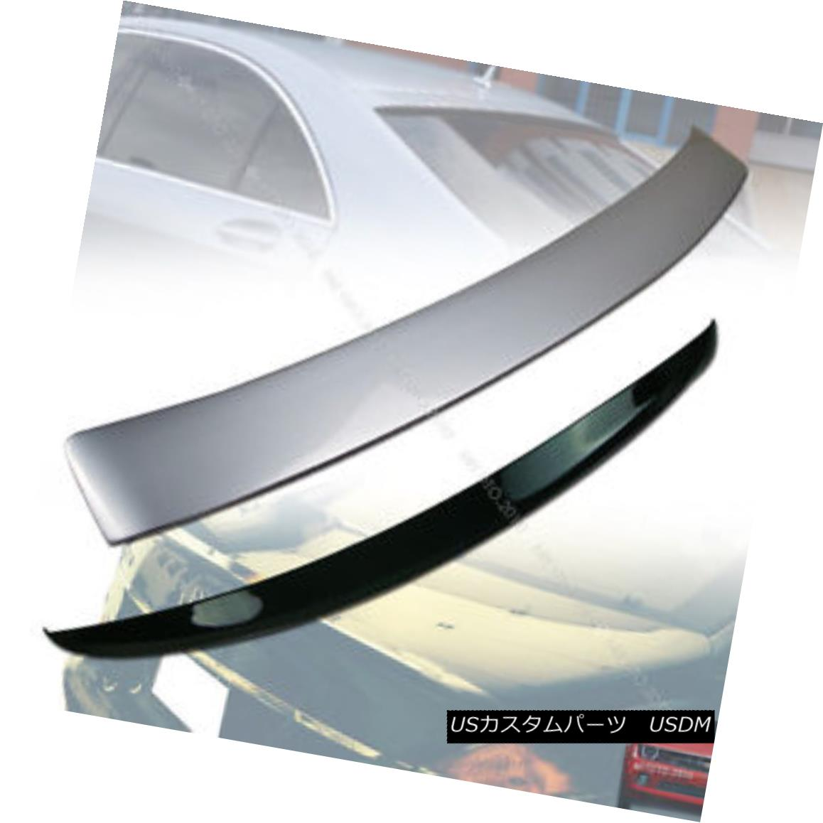 エアロパーツ Painted Mercedes Benz W221 L Type Roof Spoiler + A Type Trunk Spoiler § 塗装されたメルセデスベンツW221 L型屋根型スポイラー+ A型車用スポイラー