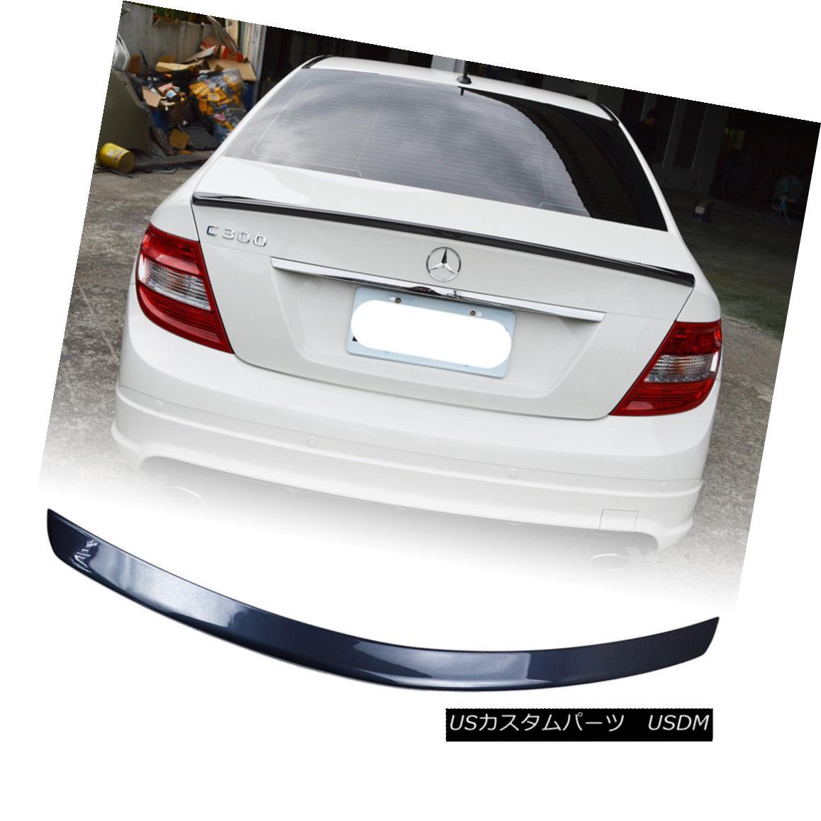 エアロパーツ Painted Color 755 For Mercedes BENZ C-Class W204 Rear Trunk Spoiler Wing ABS 塗装カラー755メルセデスベンツCクラスW204リアトランクスポイラーウィングABS