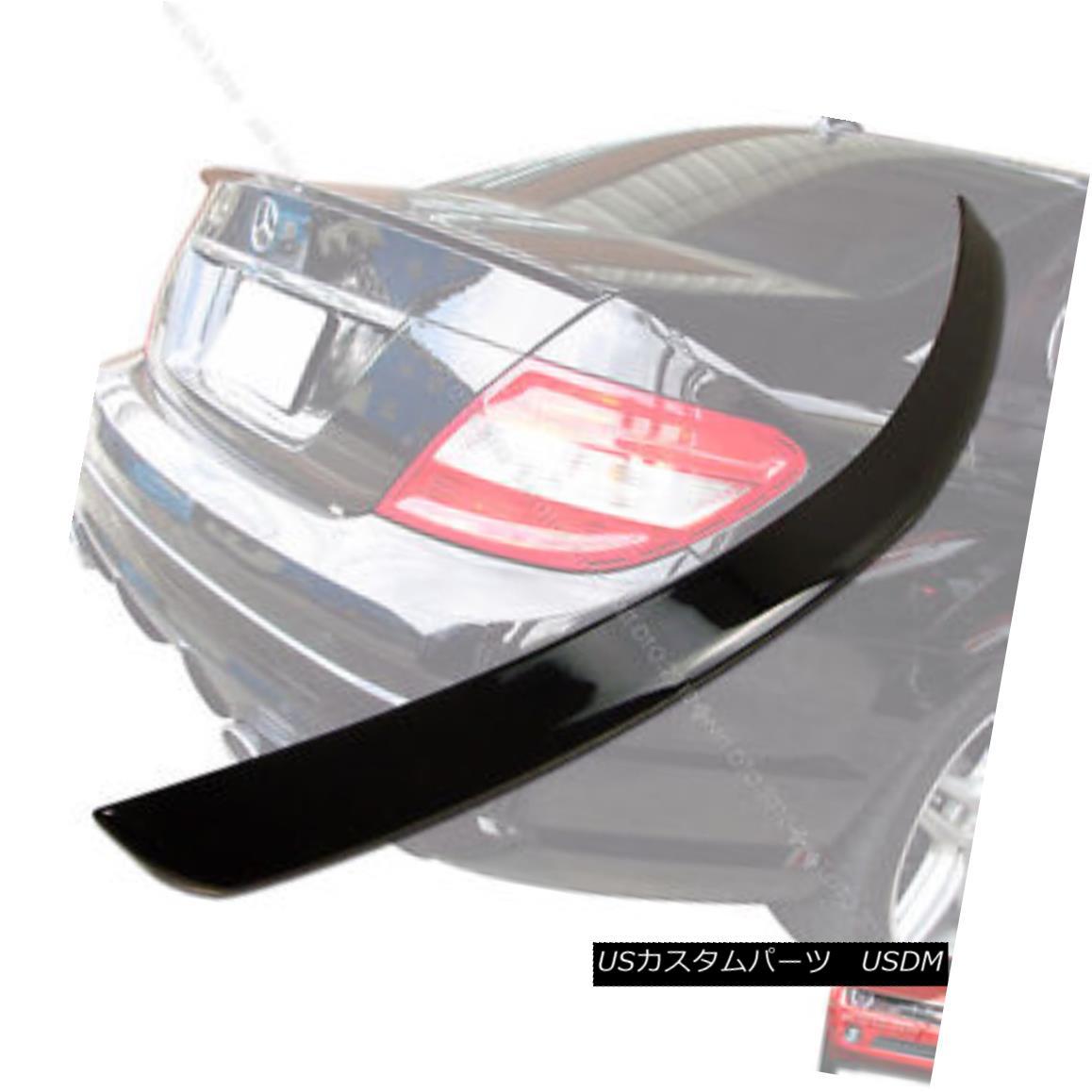 エアロパーツ ++Painted 08-13 Mercedes BENZ W204 Sedan Trunk Spoiler Rear Wing 197 § ++ Painted 08-13 BENZ W204セダントランク・スポイラーリアウィング197