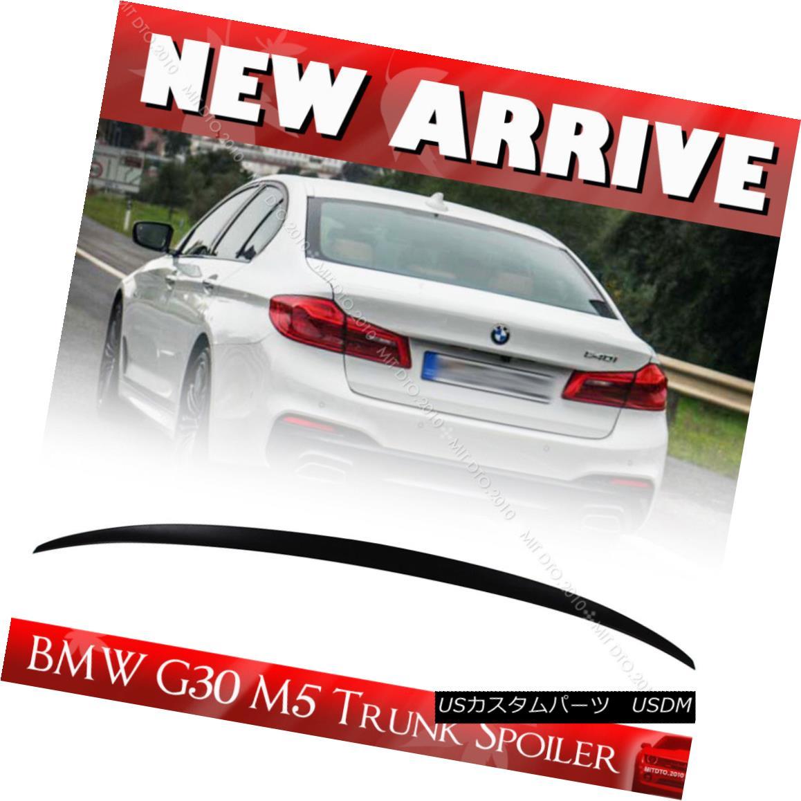 エアロパーツ UNPAINTED BMW 5 Series G30 Performance Trunk Spoiler M550i 520d 4DR UNPAINTED BMW 5シリーズG30パフォーマンストランク・スポイラーM550i 520d 4DR