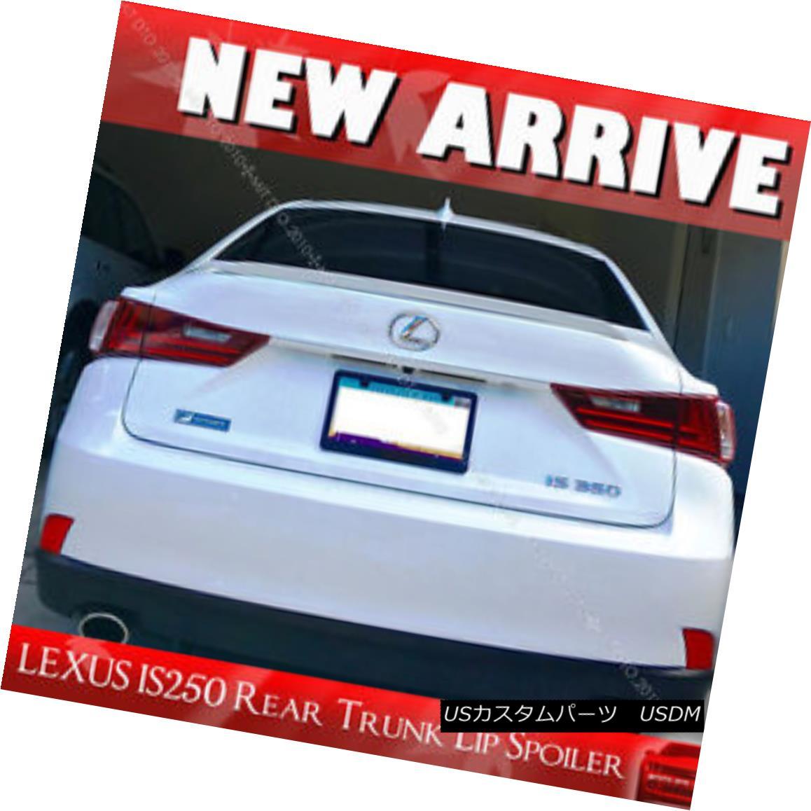 エアロパーツ Painted for Lexus IS250 IS350 IS F Window Visor Rear Trunk Lip Spoiler #083 § Lexus IS250 IS350 IS Fウインドバイザーリアトランクリップスポイラー#083