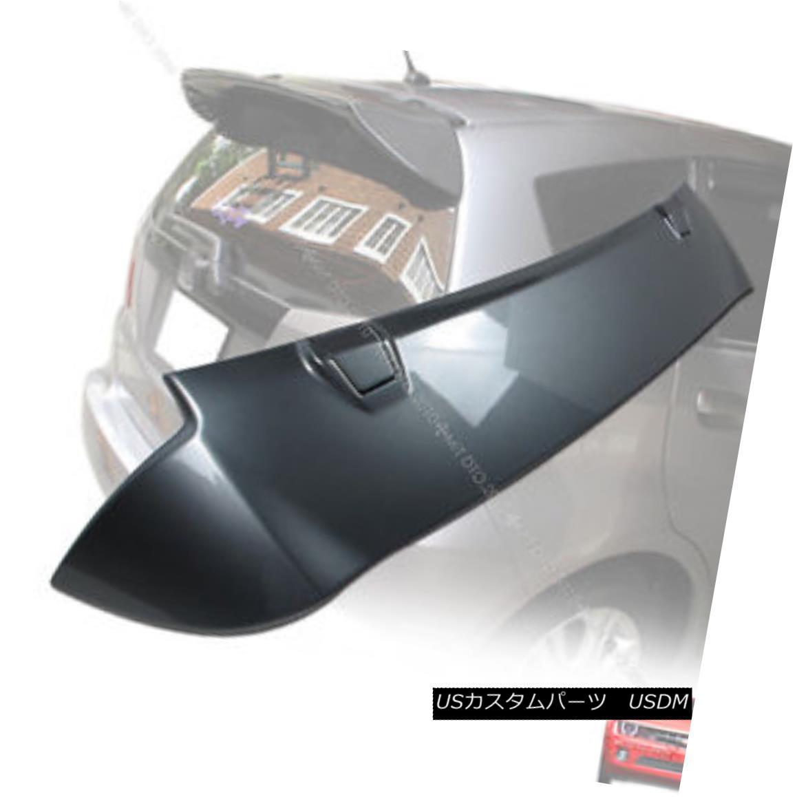 エアロパーツ Painted FOR HONDA FIT JAZZ US model Rear Boot Trunk Spoiler Wing HONDA FIT JAZZ USモデルRear Boot Trunk Spoiler Wing