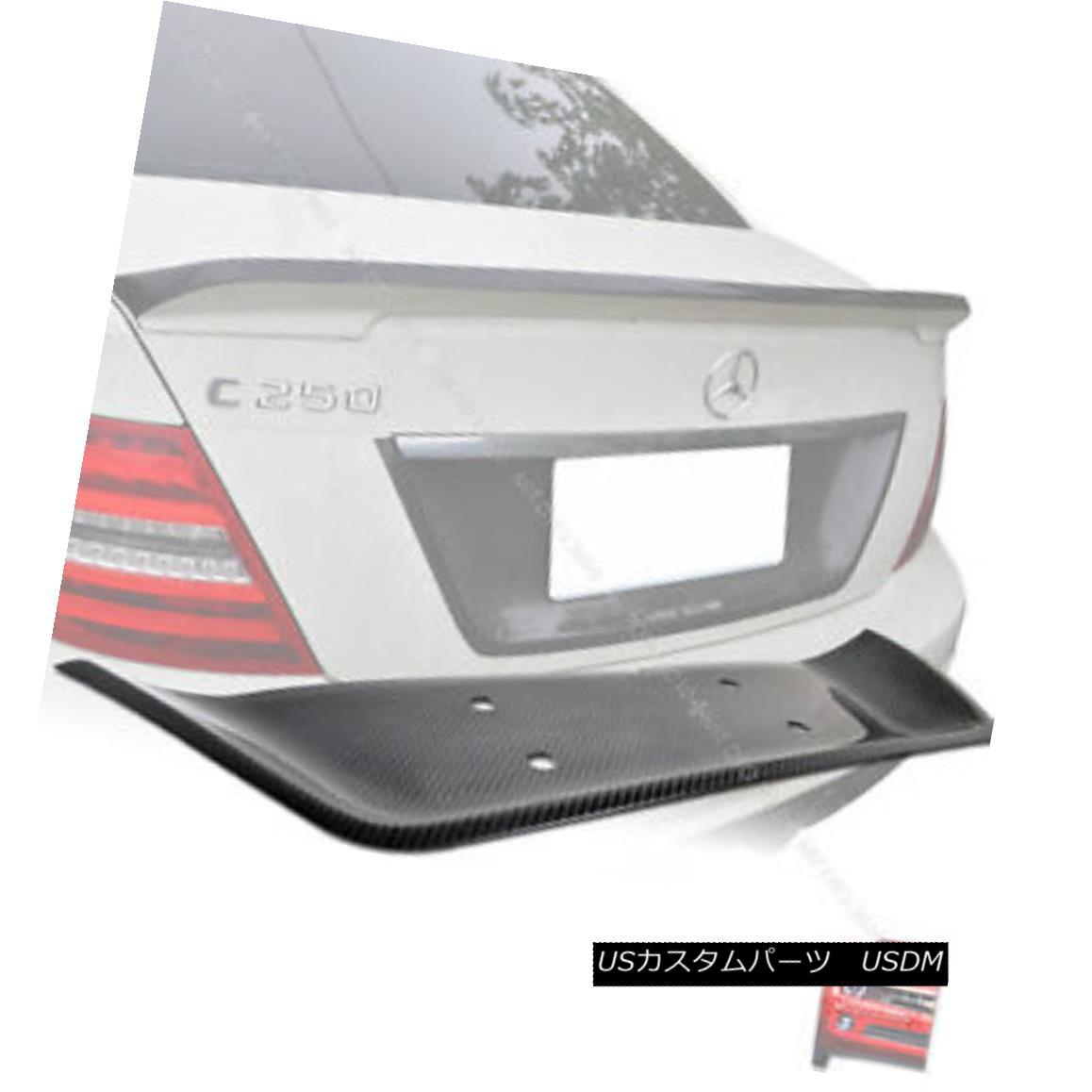 エアロパーツ Carbon MERCEDES BENZ W204 C-Class License Plate Cover C250 C63 C350 C300 § カーボンMERCEDES BENZ W204 CクラスライセンスプレートカバーC250 C63 C350 C300