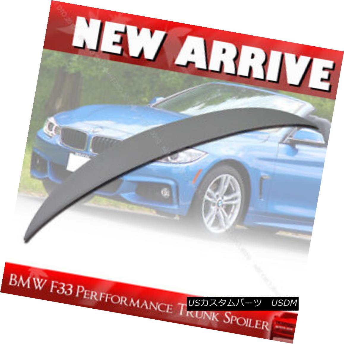 エアロパーツ Painted For BMW F33 420i 428i Performance P-Type Rear Trunk Spoiler Wing § BMW F33 420i 428iパフォーマンスP型リアトランク・スポイラー・ウイング用塗装