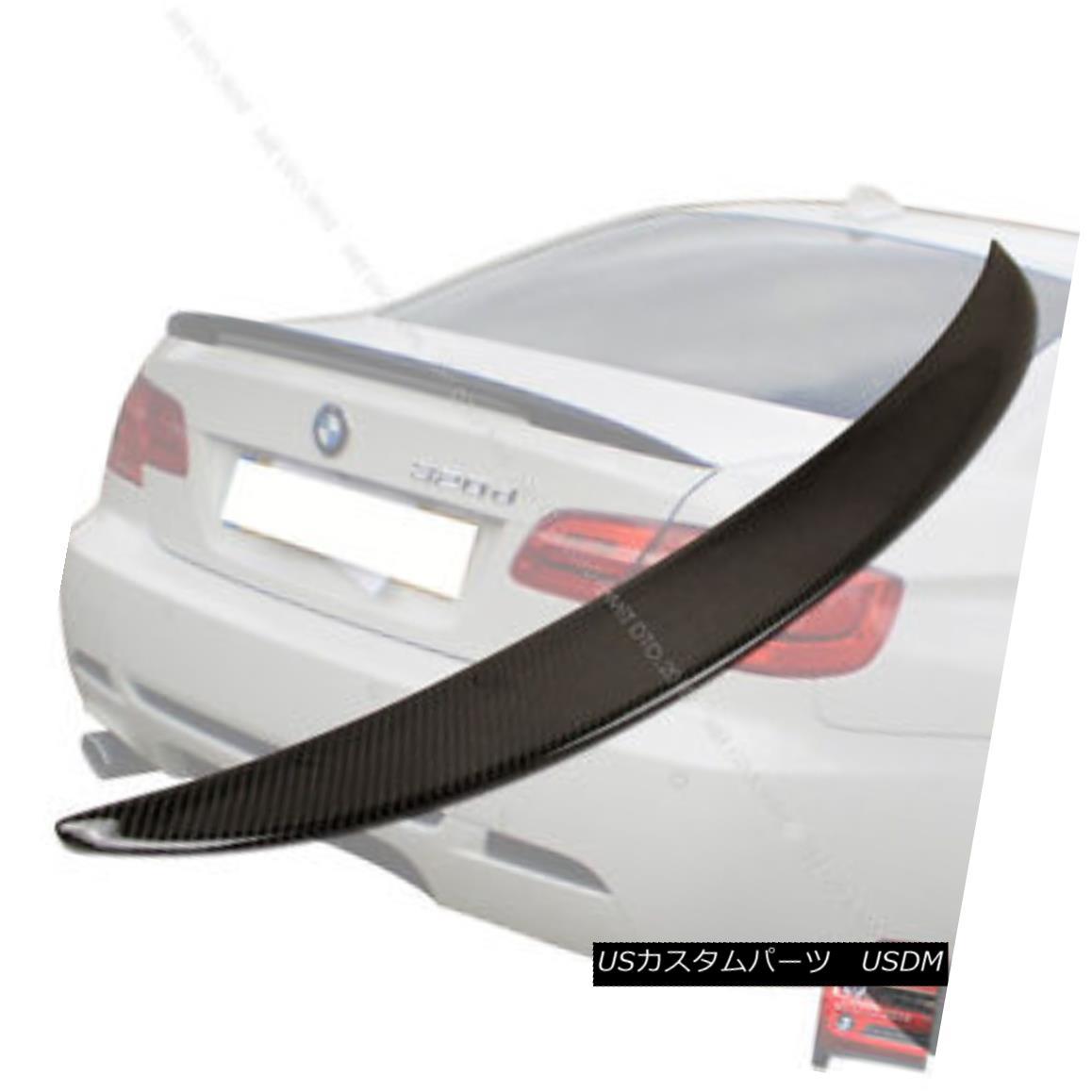 エアロパーツ BMW E92 2D Performance Carbon Fiber Higher Rear Trunk Spoiler Wing 320d M3 BMW E92 2Dパフォーマンスカーボンファイバーより高いリアトランク・スポイラー・ウィング320d M3