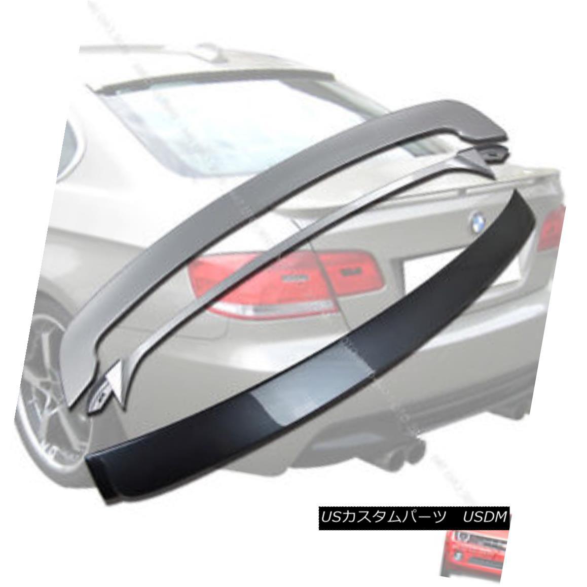 エアロパーツ Painted E92 3er BMW A-Type Roof Spoiler & OE Type Trunk Spoiler 07-13§ ペイントされたE92 3er BMW A型ルーフスポイラー& OEタイプのトランク・スポイラー07-13