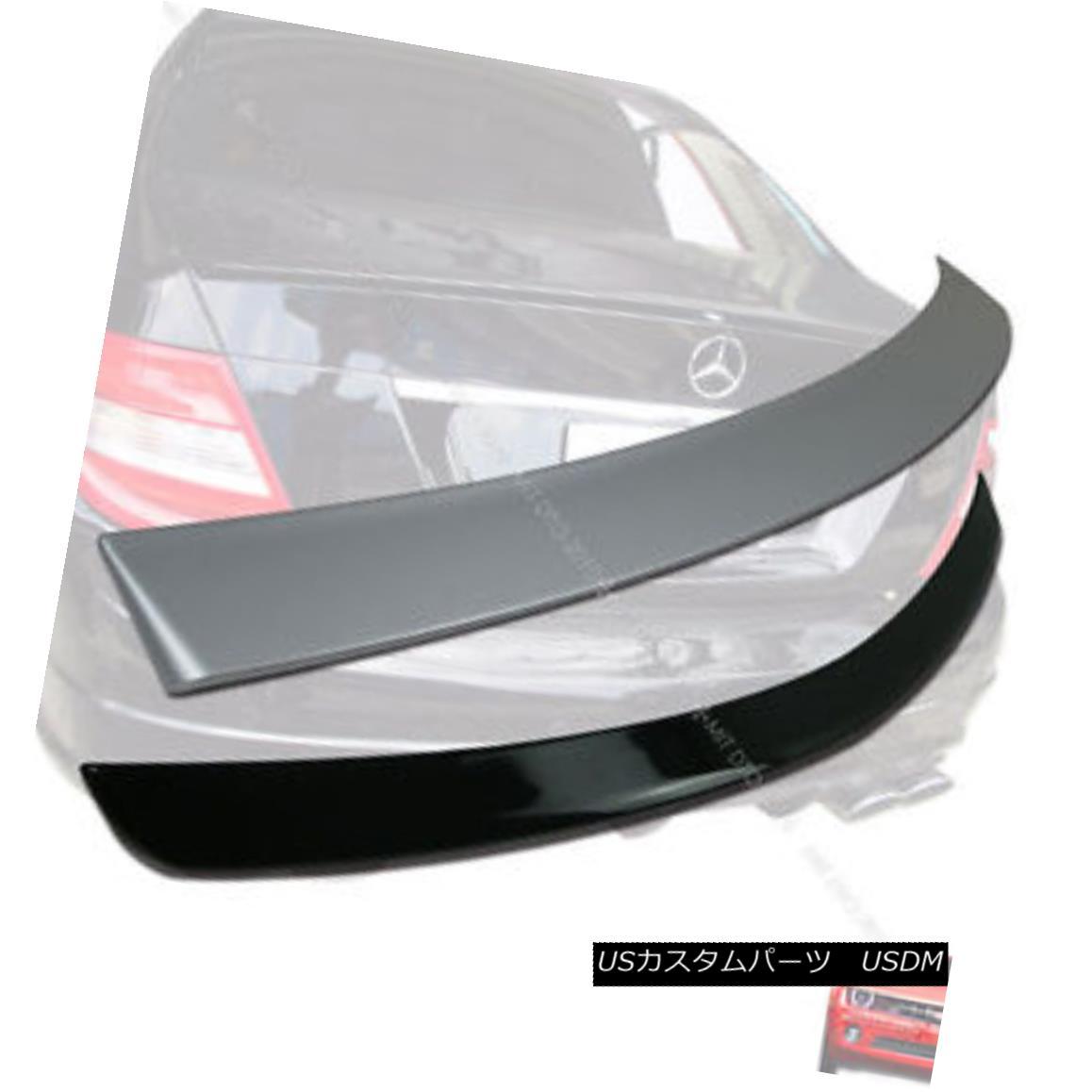 エアロパーツ Painted Mercedes BENZ W204 OE type C Class Roof Spoiler & Trunk Spoiler 08-13 § 塗装されたメルセデスBENZ W204 OEタイプCクラスルーフスポイラー& トランク・スポイラー08-13