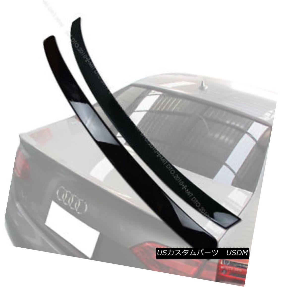 エアロパーツ Painted AUDI A4 B8 Rear Roof Spoiler & Trunk Spoiler Wing NEW 09-12 § 塗装AUDI A4 B8リアルーフスポイラー& トランク・スポイラー・ウィングNEW 09-12