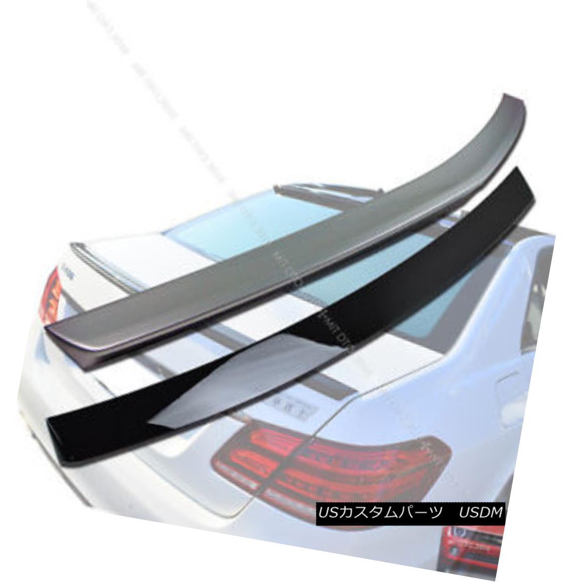 エアロパーツ Painted Mercedes Benz W212 Sedan OE Roof Spoiler + A Trunk Spoiler E350 塗装メルセデスベンツW212セダンOEルーフスポイラー+トランクスポイラーE350