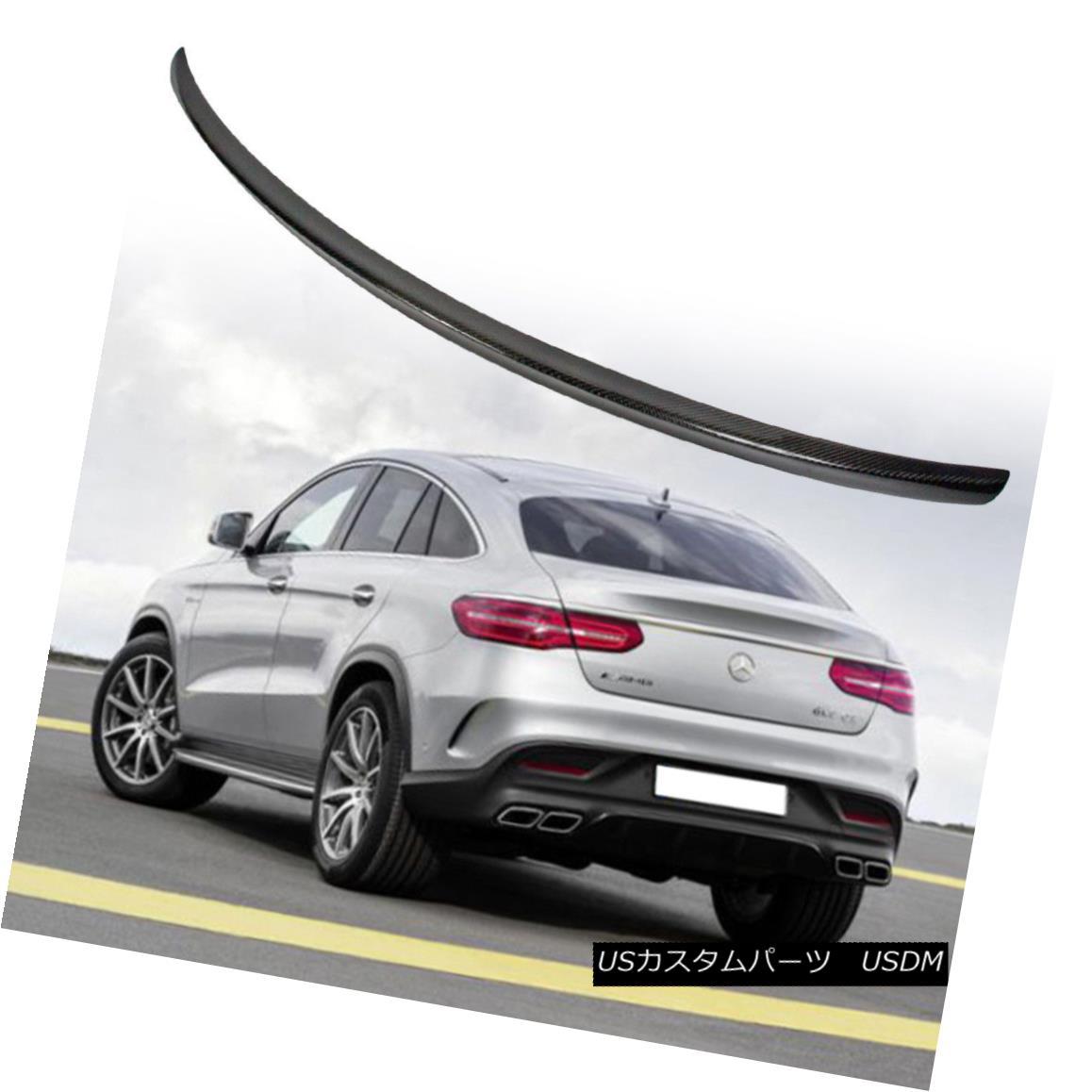 エアロパーツ Mercedes-Benz GLE Class C292 Coupe A Style Rear Trunk Spoiler Carbon Fiber メルセデス・ベンツGLEクラスC292クーペAスタイル後部トランク・スポイラー炭素繊維