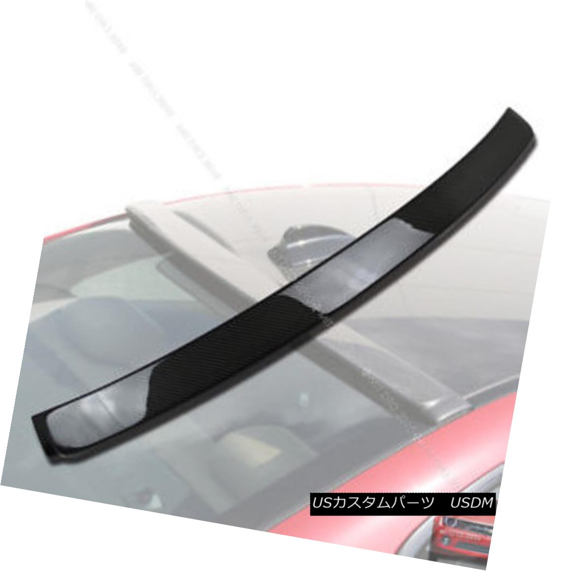 エアロパーツ Carbon Fiber BMW E92 3 Series A Coupe Roof Spoiler Rear Wing 335i 335xi M3§ カーボンファイバーBMW E92 3シリーズAクーペルーフスポイラーリアウイング335i 335xi M3