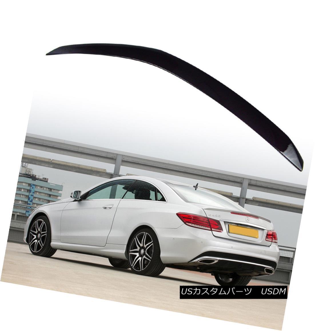 エアロパーツ Paint #197 For Mercedes Benz C207 E 2DR Coupe Convertible A Style Trunk Spoiler ペイント#197メルセデスベンツC207 E 2DRクーペのコンバーチブルスタイルのトランク・スポイラー