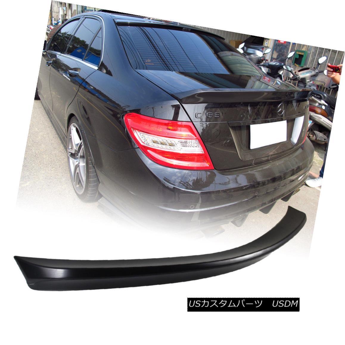 エアロパーツ Painted Mercedes BENZ C Class W204 Sedan V Trunk Spoiler C250 C300 2013 塗装されたメルセデスベンツCクラスW204セダンVトランクスポイラーC250 C300 2013