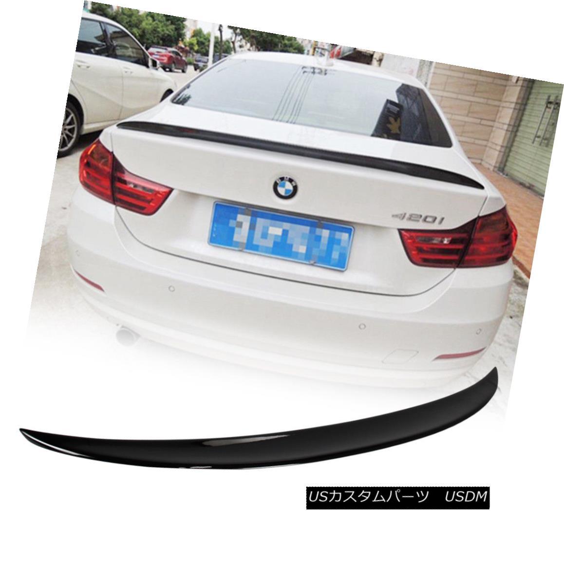 エアロパーツ Paint #668 Black BMW F33 420i 428i Performance P-Type Rear Trunk Spoiler Wing ペイント#668ブラックBMW F33 420i 428iパフォーマンスPタイプリアトランク・スポイラー・ウィング
