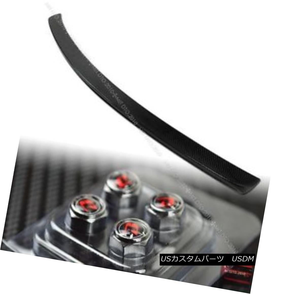 エアロパーツ Carbon Fiber Mercedes Benz C204 2DR Coupe A Type Rear Trunk Boot Spoiler Wing § カーボンファイバーメルセデスベンツC204 2DRクーペAタイプリアトランクブーツスポイラーウイング