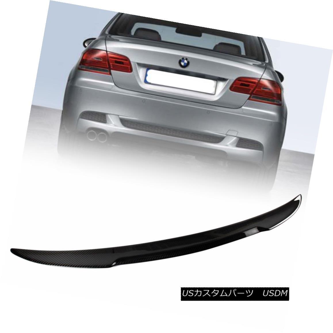 エアロパーツ One Day Ship- 2007up Carbon Fiber For BMW E92 Coupe M4 Style Rear Trunk Spoiler 1日の船 - BMW E92クーペM4スタイルのリア・トランク・スポイラー用2007upカーボンファイバー