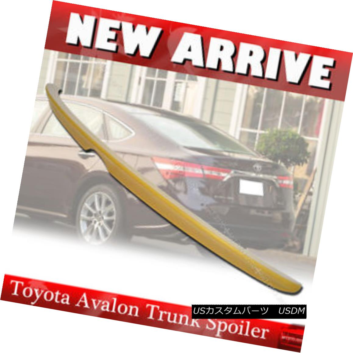 エアロパーツ Painted ABS 13-16 Toyota Avalon XX40 4th OE Style Rear Trunk Spoiler Wing 塗装ABS 13-16トヨタアバロンXX40第4回OEスタイルリアトランク・スポイラー・ウィング