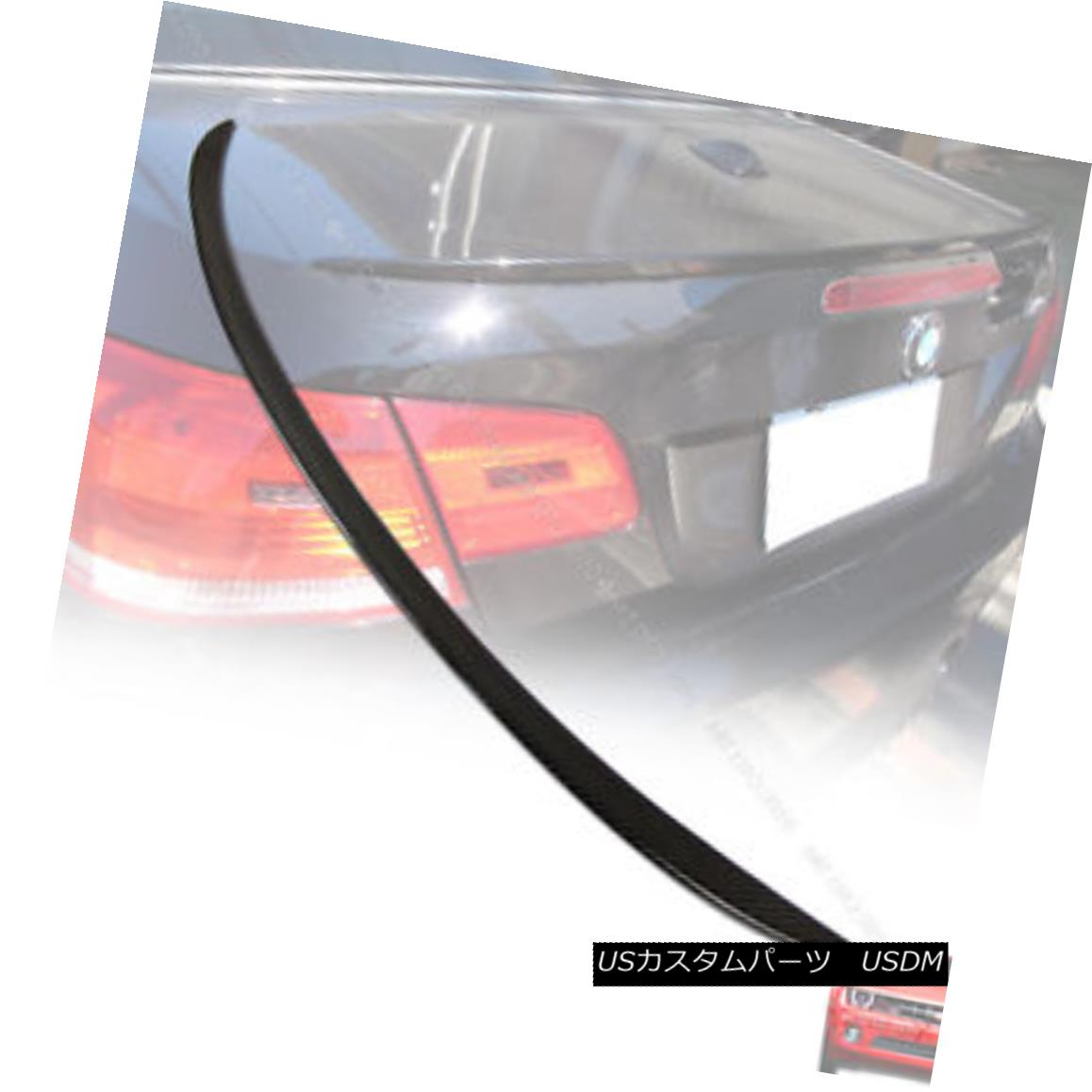 For BMW E92 Performance 3-SERIES REAR LOW KICK BOOT TRUNK SPOILER 07-13 328i M3