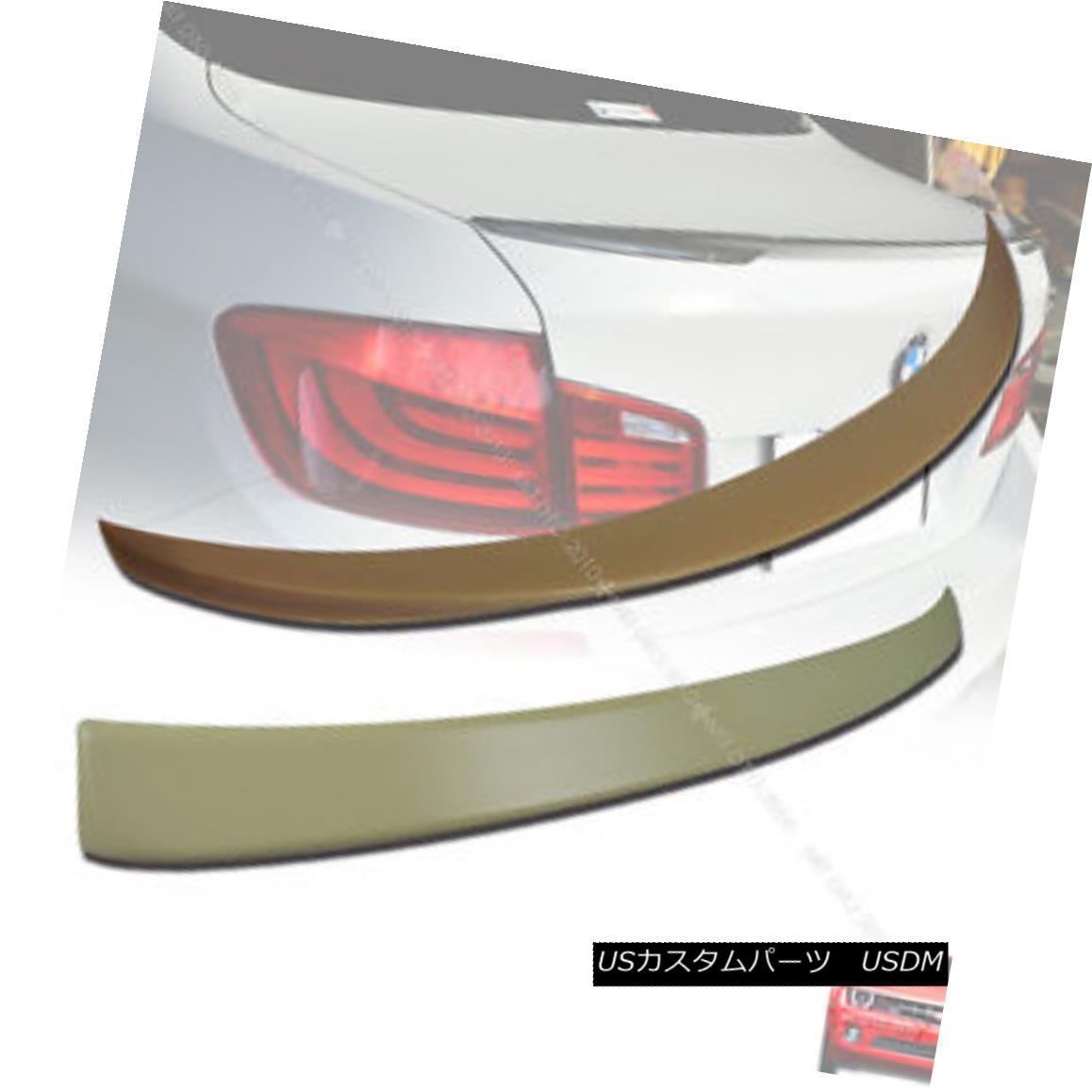 エアロパーツ BMW NEW F10 A Type Roof Spoiler & P Type Trunk Spoiler Rear Wing 10+ § BMW NEW F10 Aタイプルーフスポイラー& Pタイプトランクスポイラーリアウイング10+