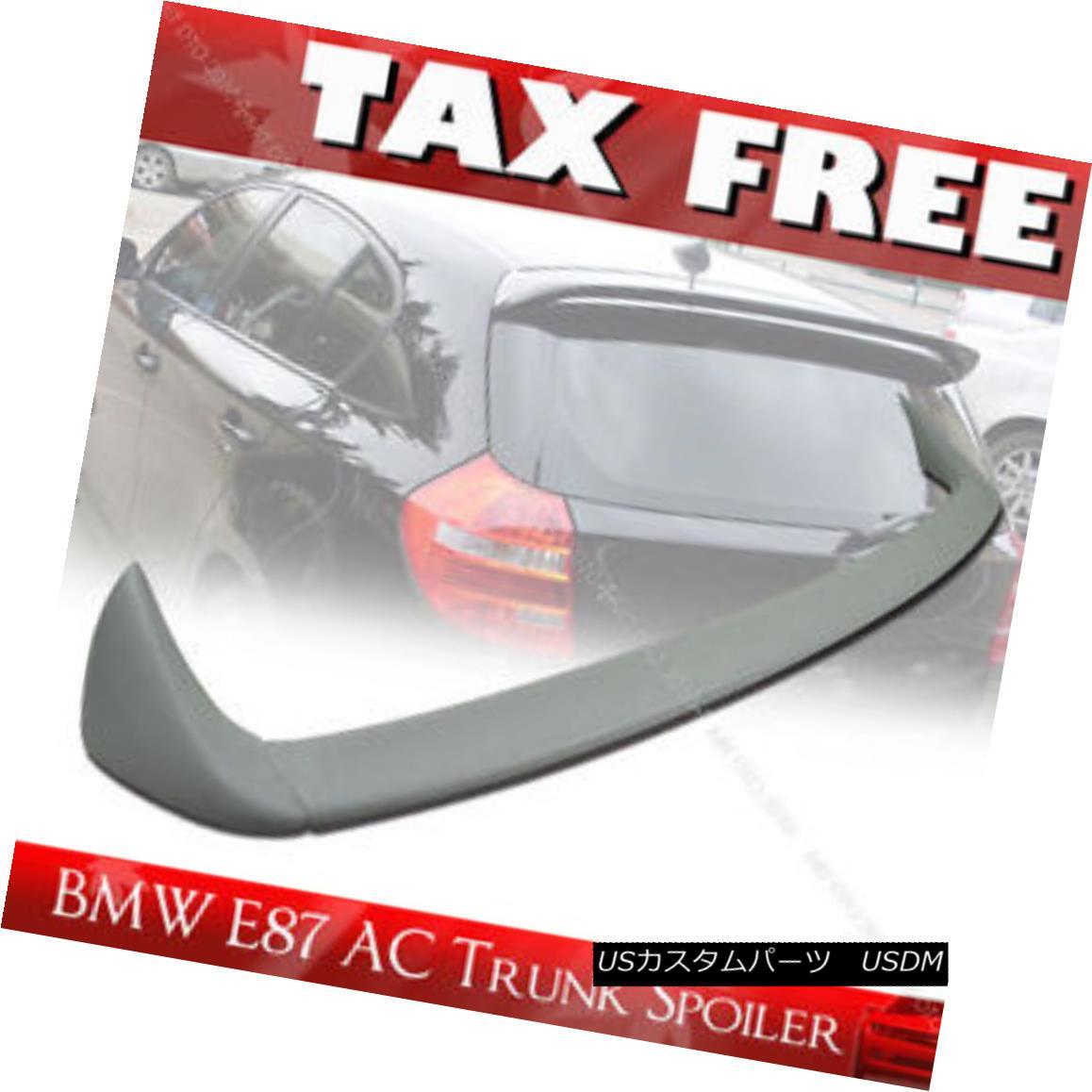 エアロパーツ Unpainted For BMW E87 E81 Rear Trunk Spoiler Wing 120i 130i 3DR 5DR Hatchback § 未塗装のBMW E87 E81リアトランク・スポイラーウィング120i 130i 3DR 5DRハッチバック