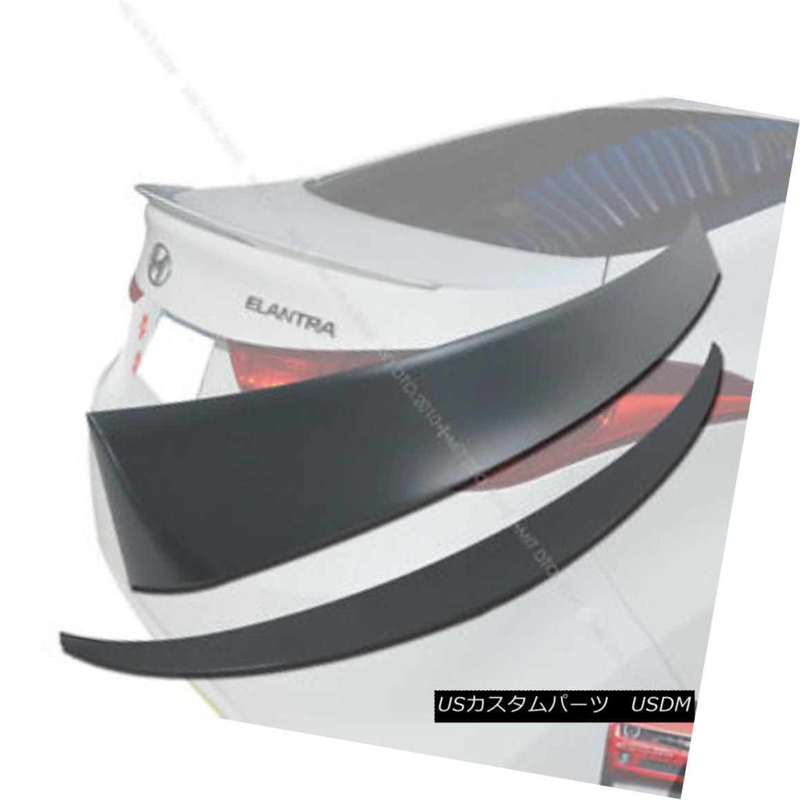 エアロパーツ 2010+ MD Elantra Rear Roof Spoiler & Trunk Spoiler Wing NEW § 2010 + MD Elantraリアルーフスポイラー& トランク・スポイラー・ウィングNEW
