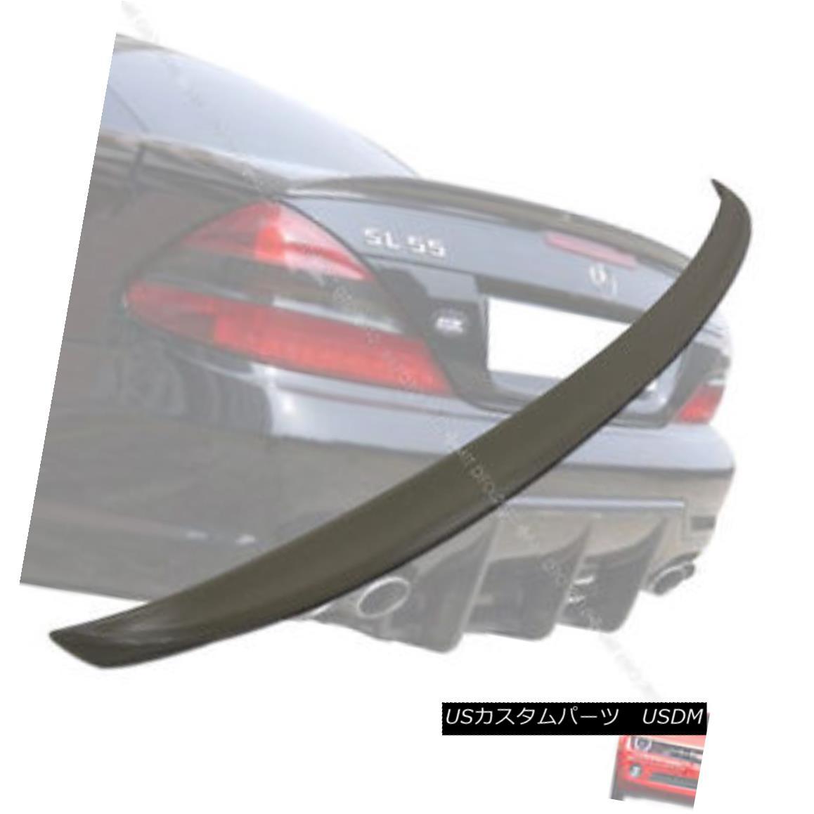 エアロパーツ Mercedes BENZ R230 A Type Boot Trunk Spoiler Rear Wing 03-11 メルセデスベンツR230型式ブーツトランクスポイラーリアウイング03-11