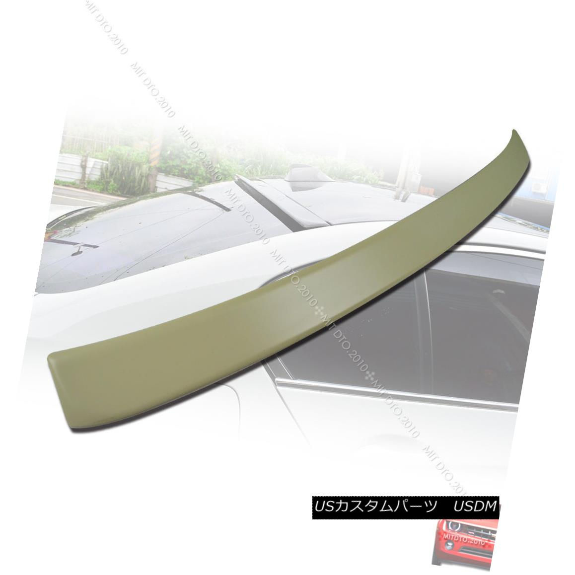エアロパーツ BMW NEW F10 5-Series A Type 4DR Sedan Roof Spoiler ABS 2010+ BMW NEW F10 5シリーズA型4DRセダンルーフスポイラーABS 2010+