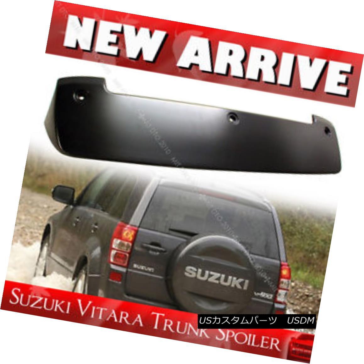 エアロパーツ For Suzuki Grand Vitara 3rd SUV Unpaint ABS Roof Spoiler Wing 2014 GLS スズキグランヴィタラ用第3 SUVアンペイントABSルーフスポイラーウイング2014 GLS