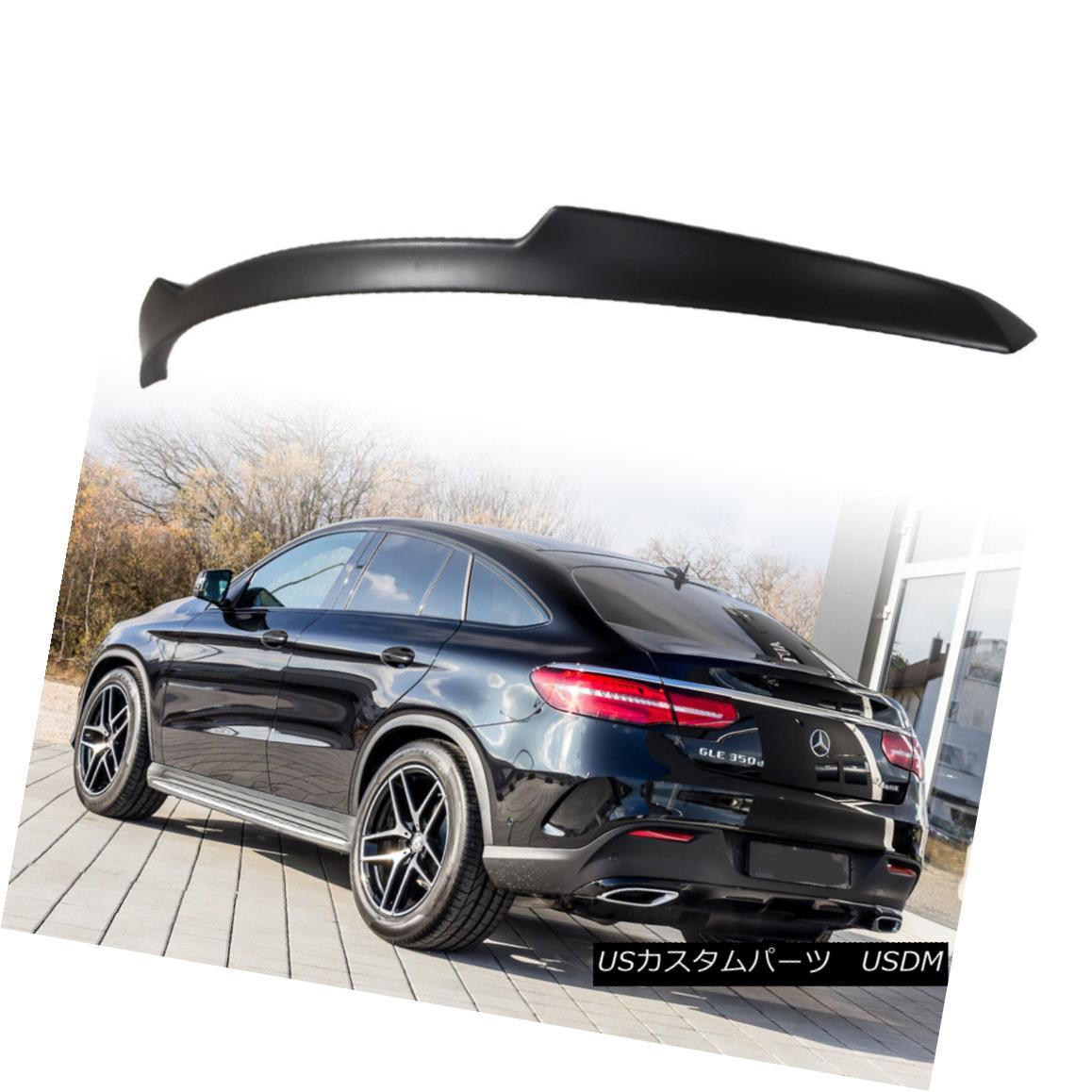 エアロパーツ For Mercedes BENZ GLE C292 Coupe Sport V Rear Trunk Spoiler Paint Color 15-18 メルセデスベンツGLE C292クーペスポーツVリアトランクスポイラーペイントカラー15-18