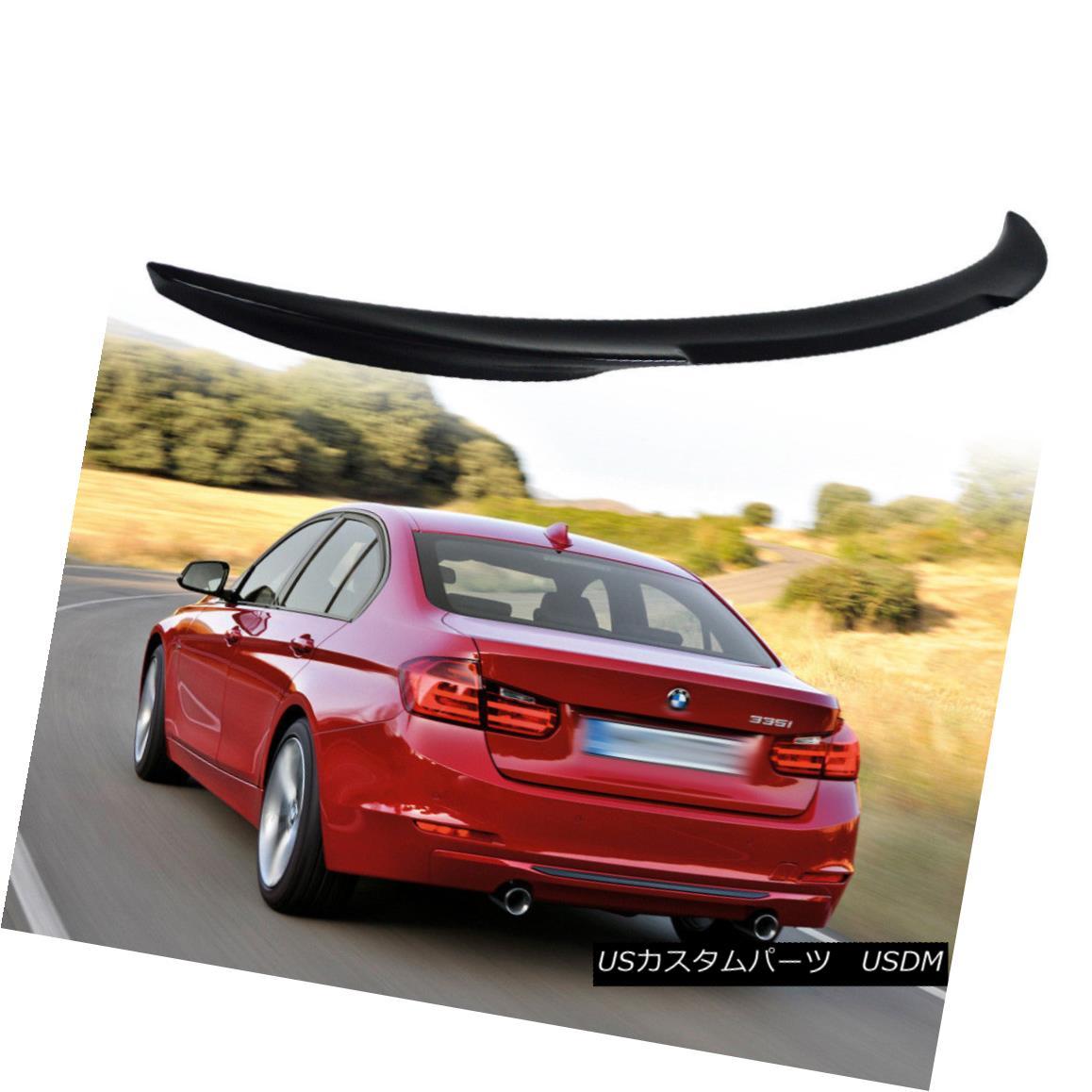 エアロパーツ Painted V Type Rear Trunk Lip Spoiler Wing for BMW 3Ser F30 F80 M3 Model Sedan § ペイントV型リアトランクリップスポイラーウィングfor BMW 3セカンドF30 F80 M3セダン