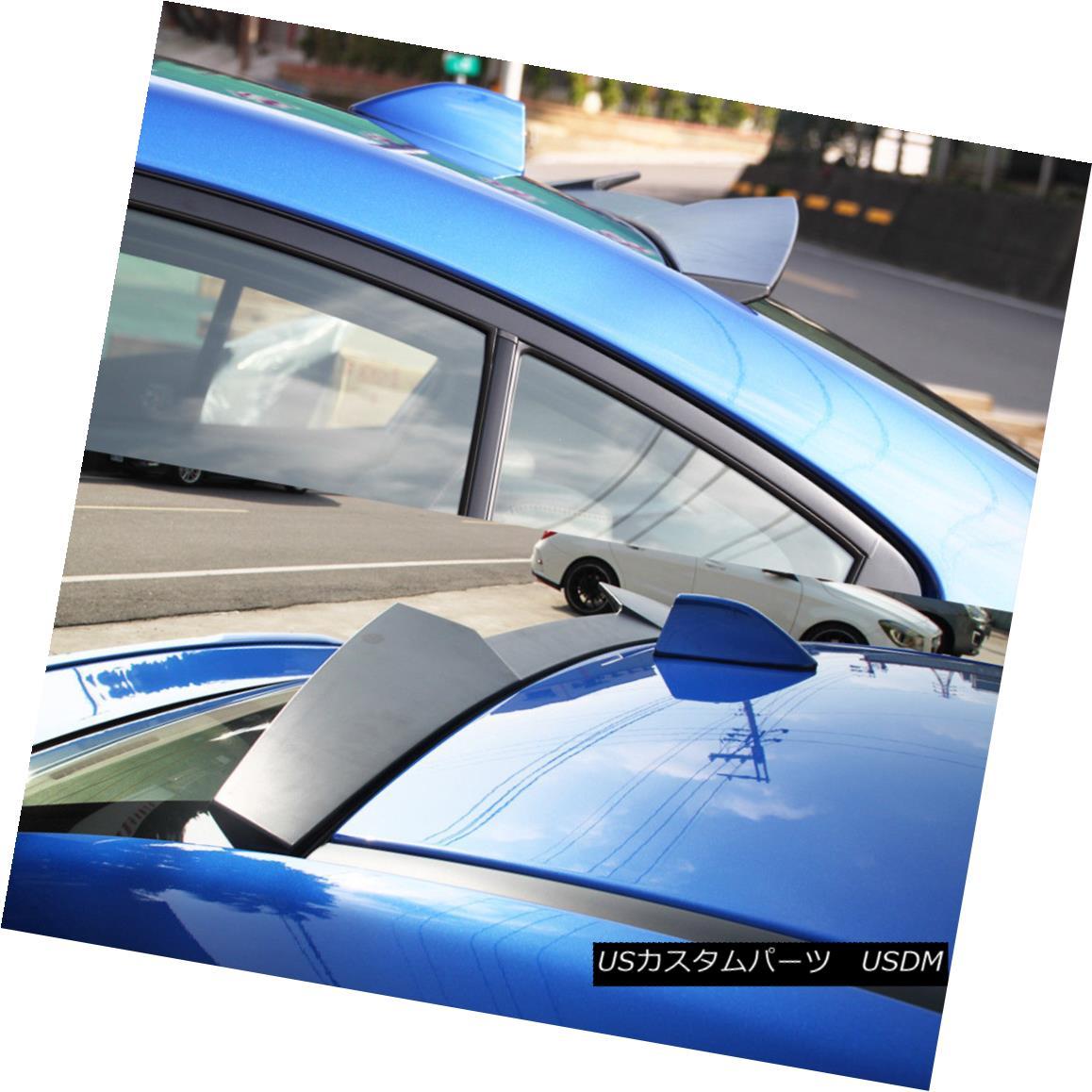 エアロパーツ For Subaru WRX 4th STI V High Style Unpainted Rear Roof Spoiler Wing Sedan ABS スバルWRX 4th STI Vハイスタイル未塗装リアールーフスポイラーウイングセダンABS