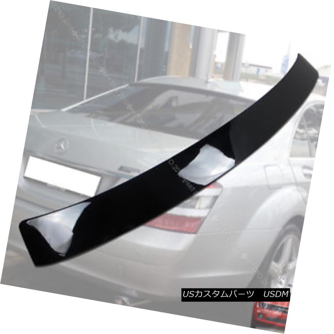 エアロパーツ 2007-2013 Mercedes Benz W221 S-class Roof Spoiler Rear Wing Painted Black 040 § 2007年?2013年メルセデスベンツW221 Sクラスルーフスポイラーリアウイングペイントブラック040