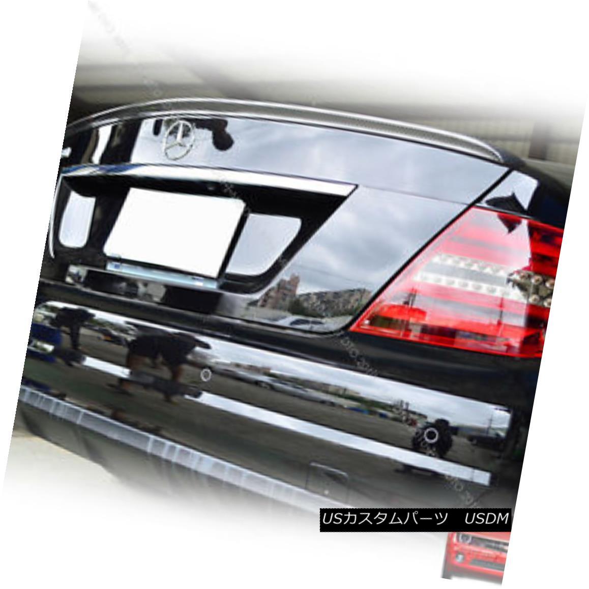 エアロパーツ Mercedes Benz C204 2DR Coupe A Type Rear Trunk Boot Spoiler Wing Painted 197 § メルセデス・ベンツC204 2DRクーペAタイプ・リアトランク・ブーツ・スポイラー・ウィング・ペイント197