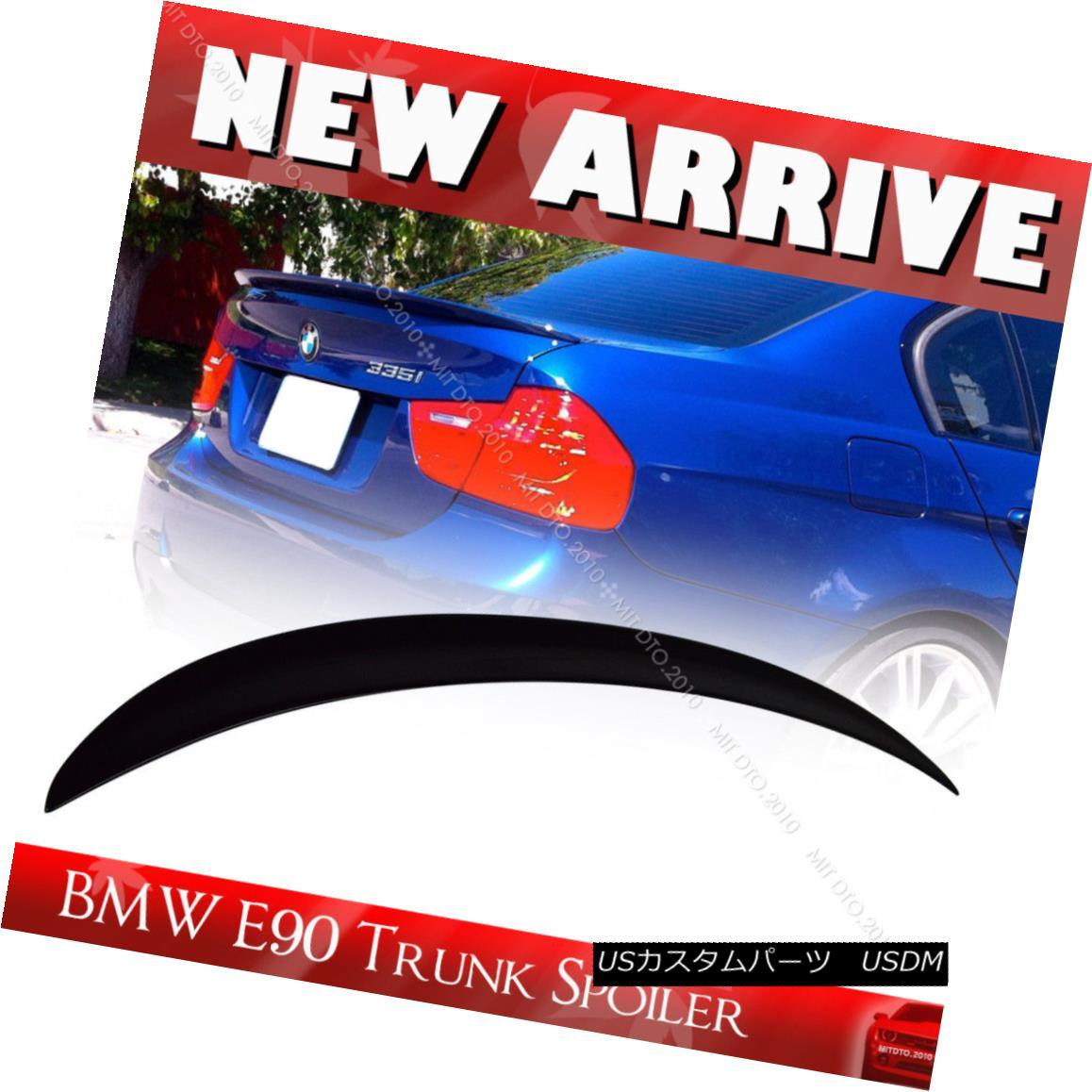 エアロパーツ 2006+ Paint Color E90 BMW 3-Series Performance P-TYPE 4DR Trunk Spoiler #668 2006+ペイントカラーE90 BMW 3シリーズパフォーマンスP-TYPE 4DRトランク・スポイラー#668